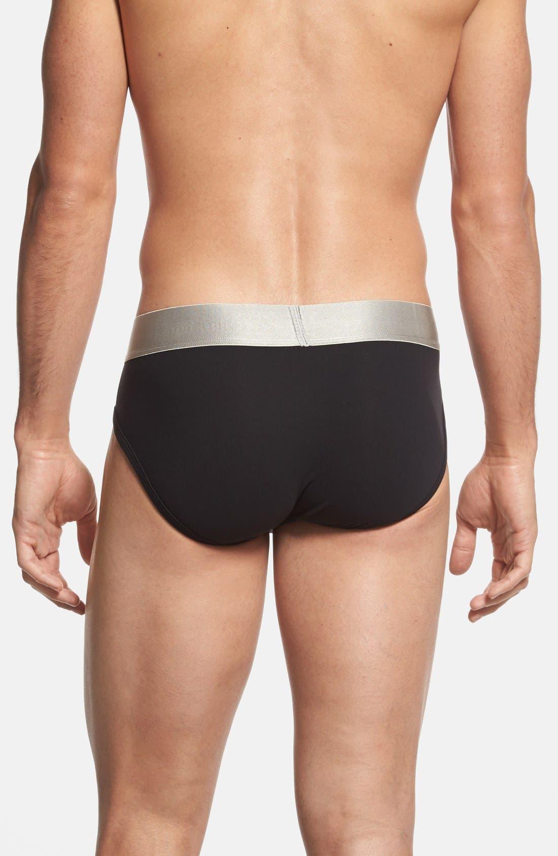 Alternate Image 2  - Calvin Klein 'Steel - U2715' Microfiber Hip Briefs