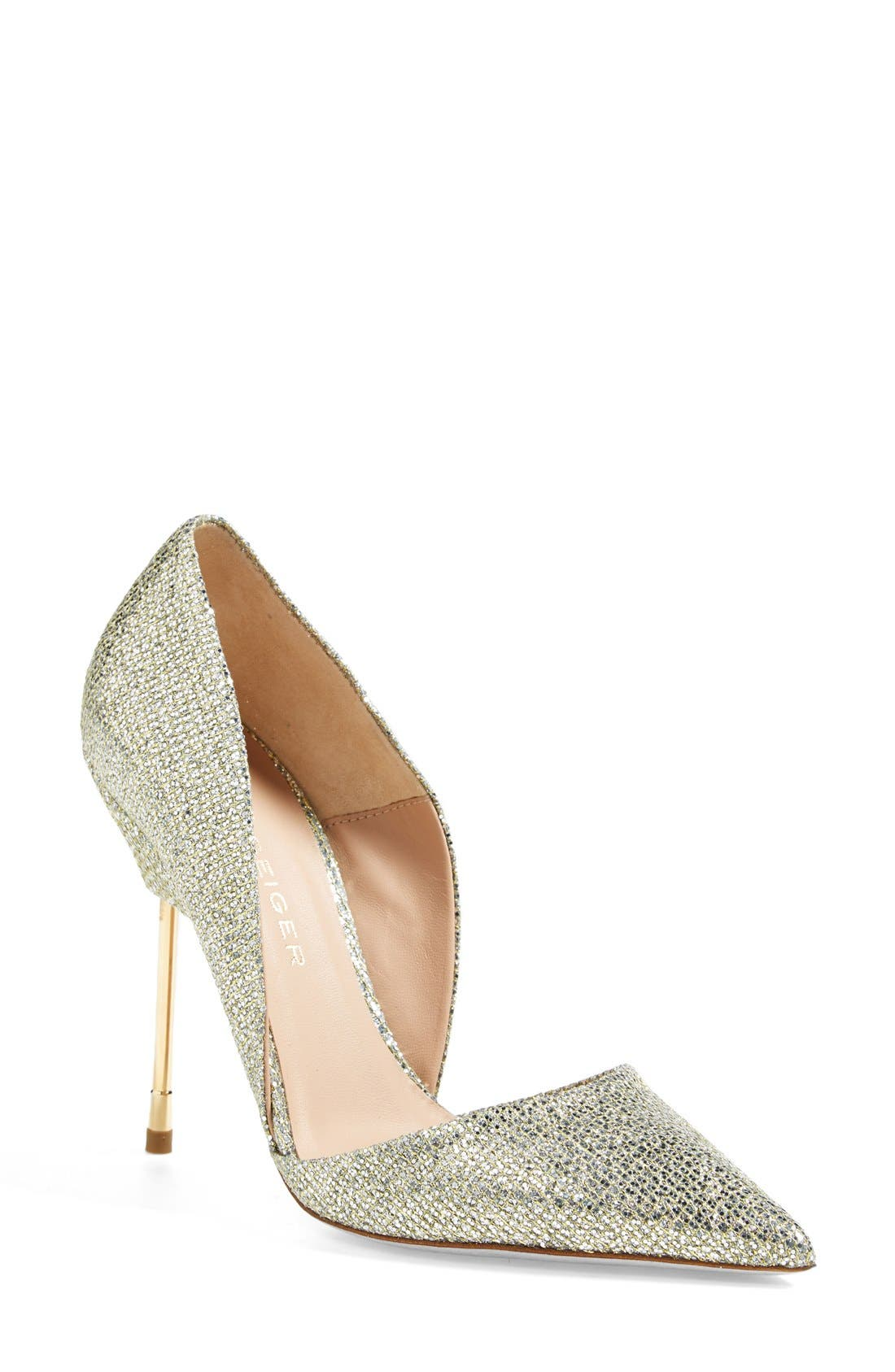 Alternate Image 1 Selected - Kurt Geiger London 'Bond 2' d'Orsay Pump (Women)