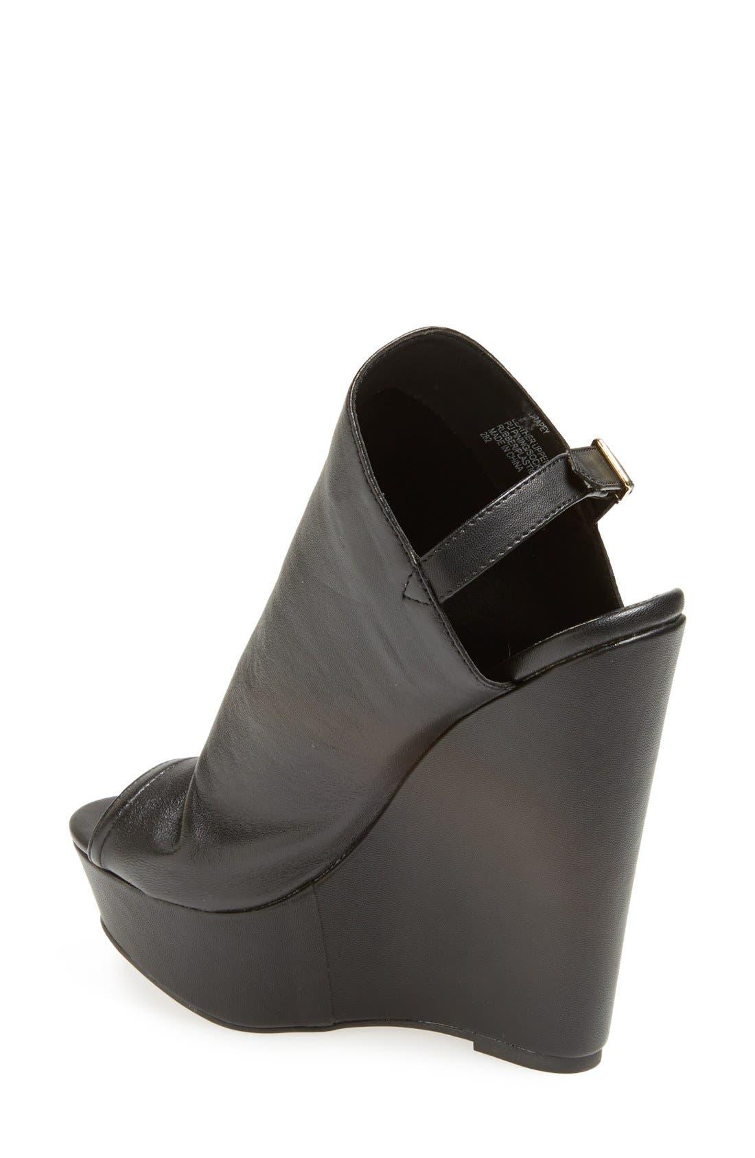 Alternate Image 2  - Steve Madden 'Drapey' Wedge Sandal (Women)