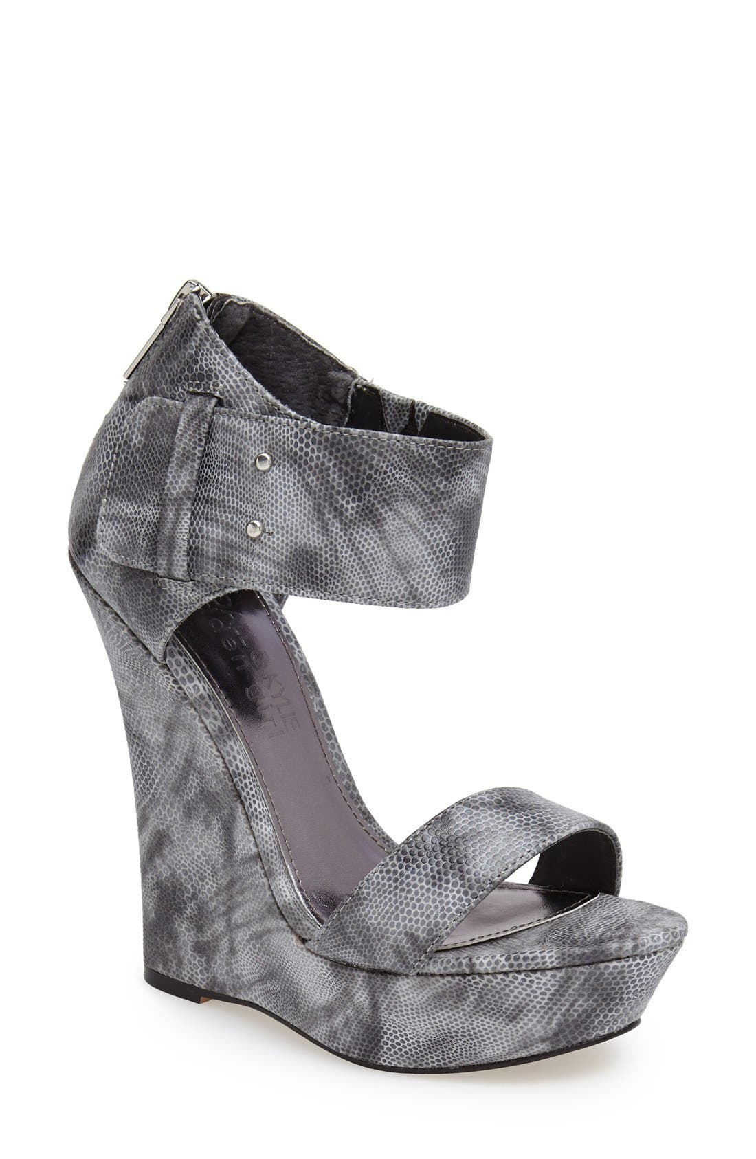 Alternate Image 1 Selected - KENDALL + KYLIE Madden Girl 'Felina' Wedge Sandal (Women)