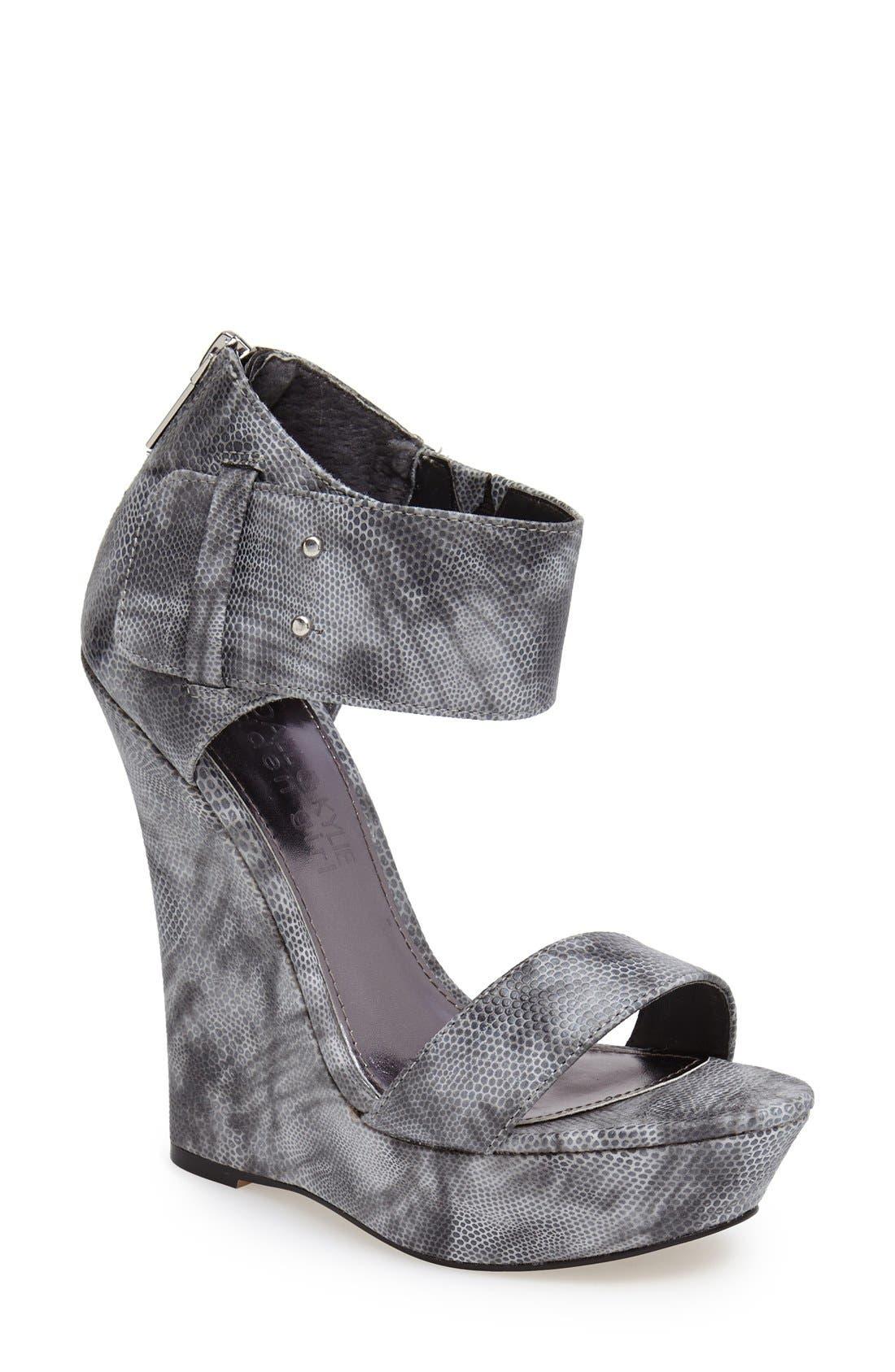 Main Image - KENDALL + KYLIE Madden Girl 'Felina' Wedge Sandal (Women)