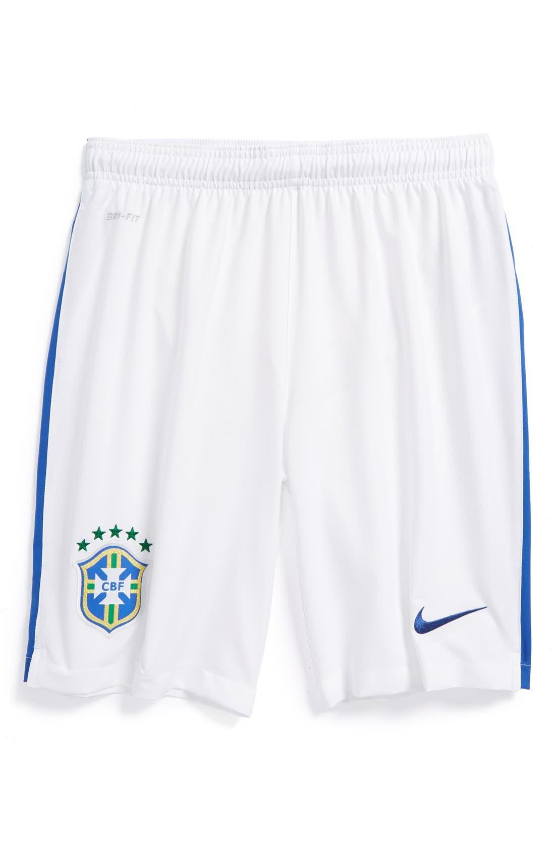 Alternate Image 1 Selected - Nike 'CBF Stadium World Soccer' Shorts (Big Boys)