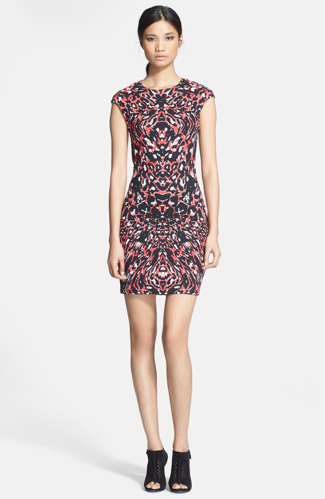 Alternate Image 1 Selected - McQ by Alexander McQueen Animal Print Body-Con Dress