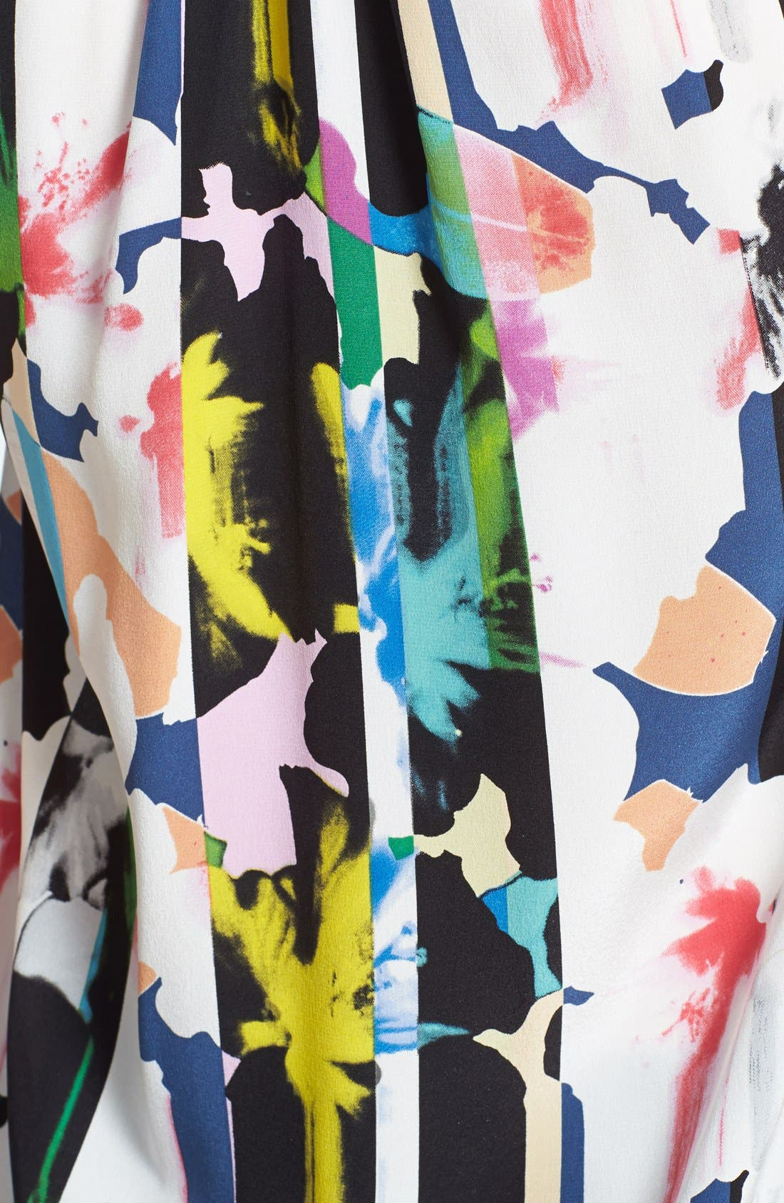 Alternate Image 3  - Rebecca Minkoff 'Lizzy Bora Bora' Print Silk Tank