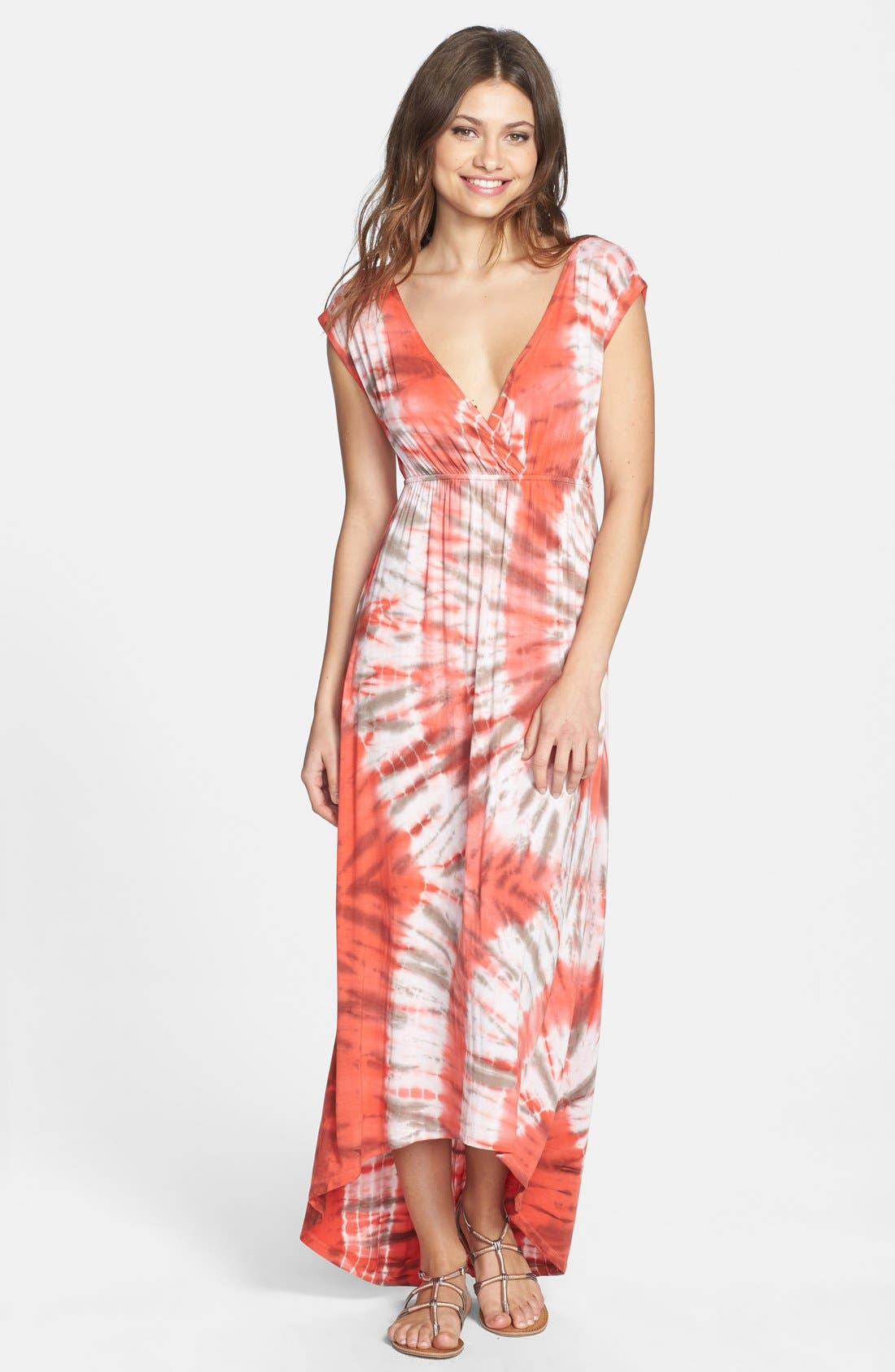 Alternate Image 1 Selected - Felicity & Coco 'Effron' Tie Dye Maxi Dress (Nordstrom Exclusive)