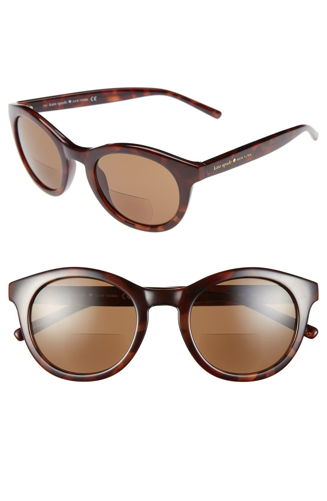 Alternate Image 1 Selected - kate spade new york 'sunreader' 36mm reading sunglasses (2 for $88)