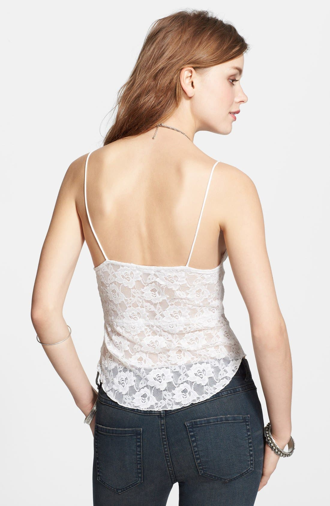 Alternate Image 2  - Free People 'Shine' Lace Camisole
