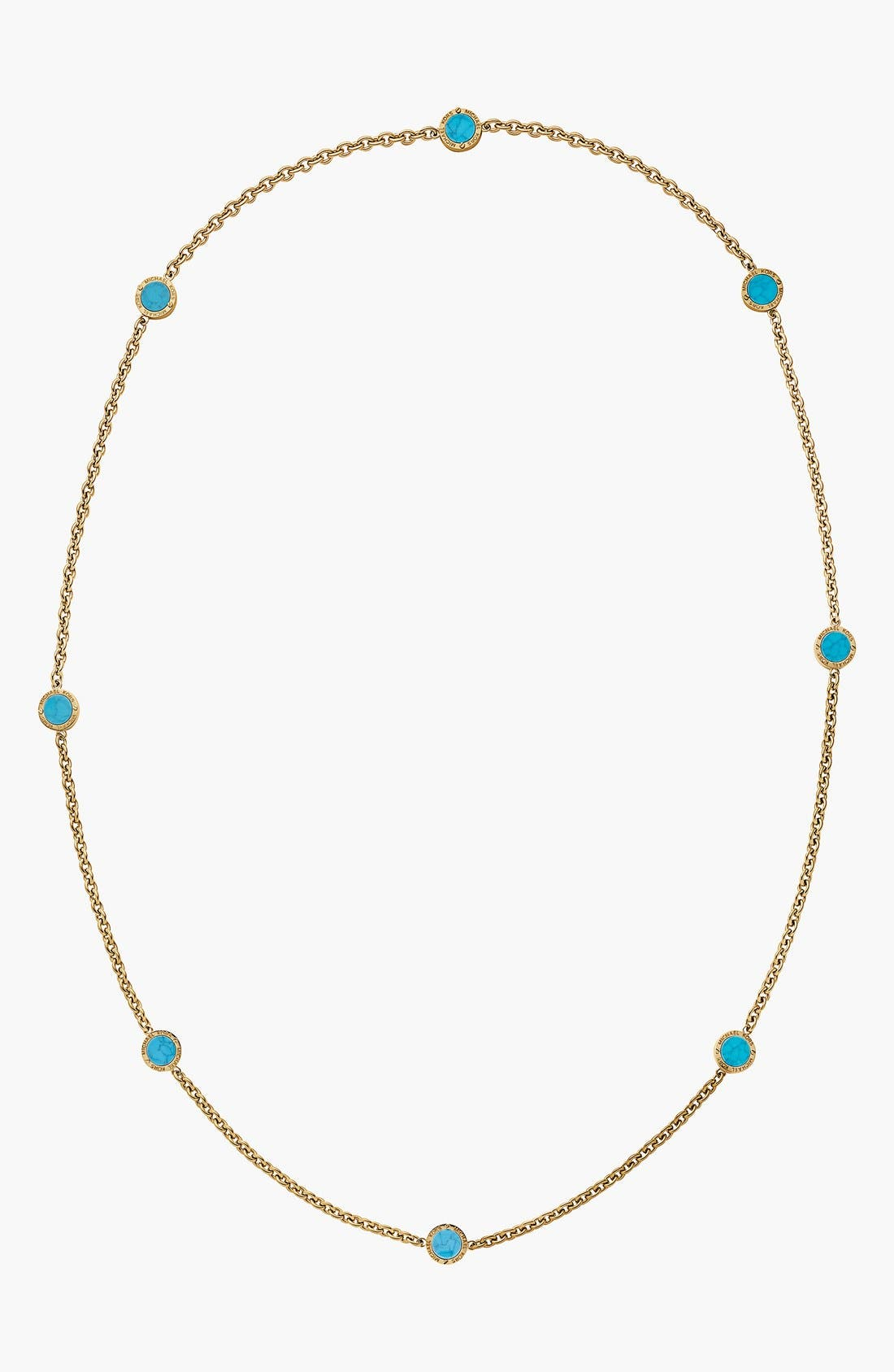 Alternate Image 1 Selected - Michael Kors 'Modern Mix' Long Station Necklace