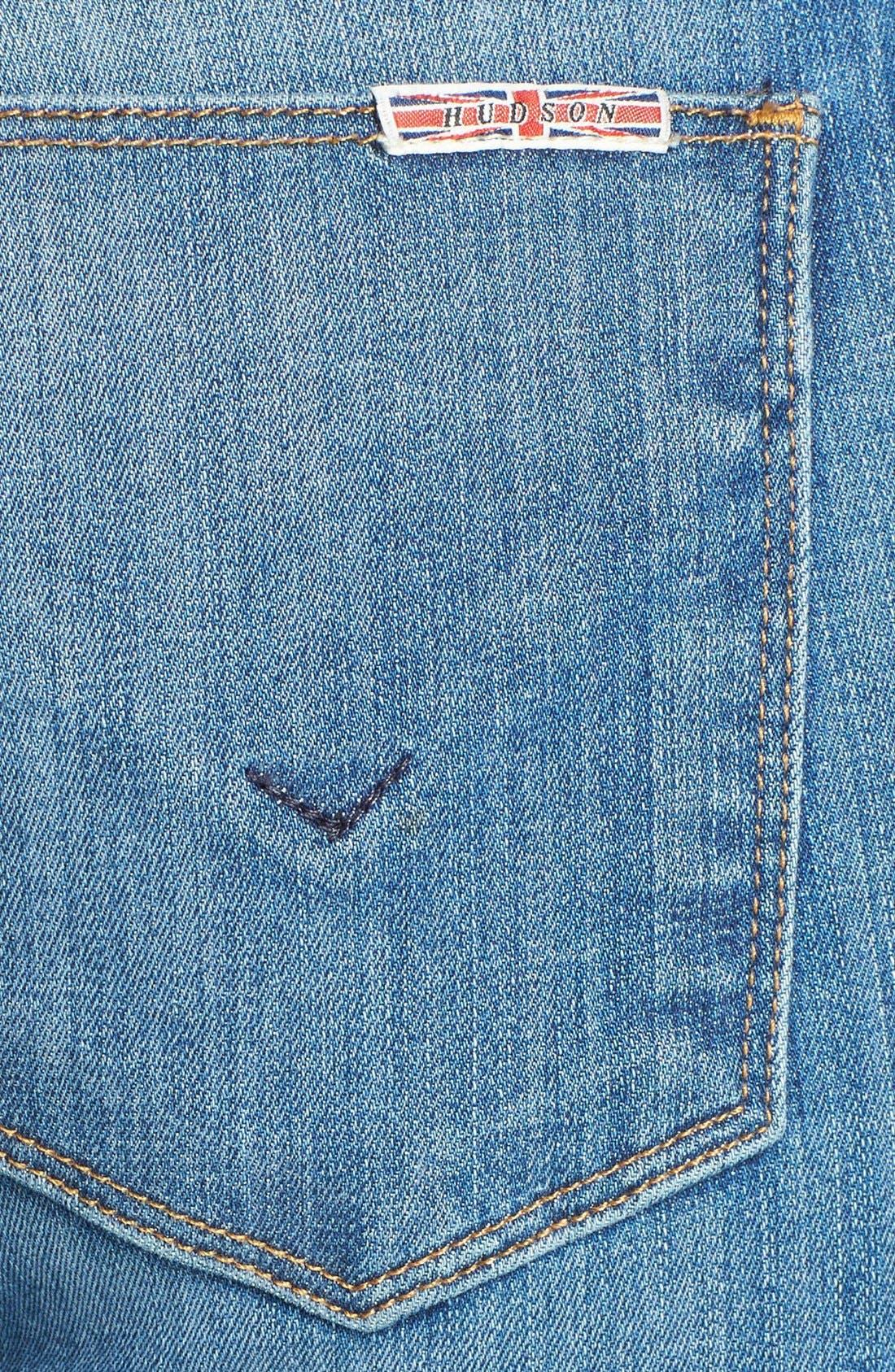 Alternate Image 3  - Hudson Jeans 'Krista' Crop Super Skinny Jeans (Worship Me)