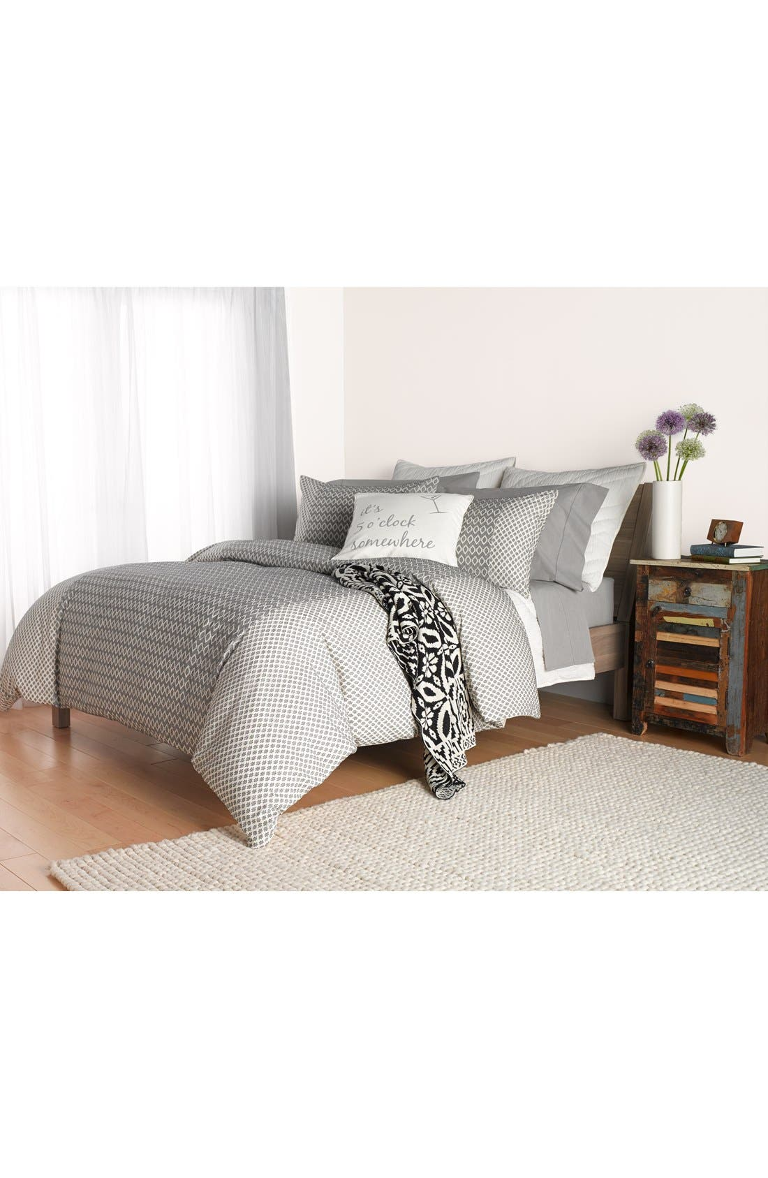 Alternate Image 3  - Nordstrom at Home 'Tiles' Knit Throw