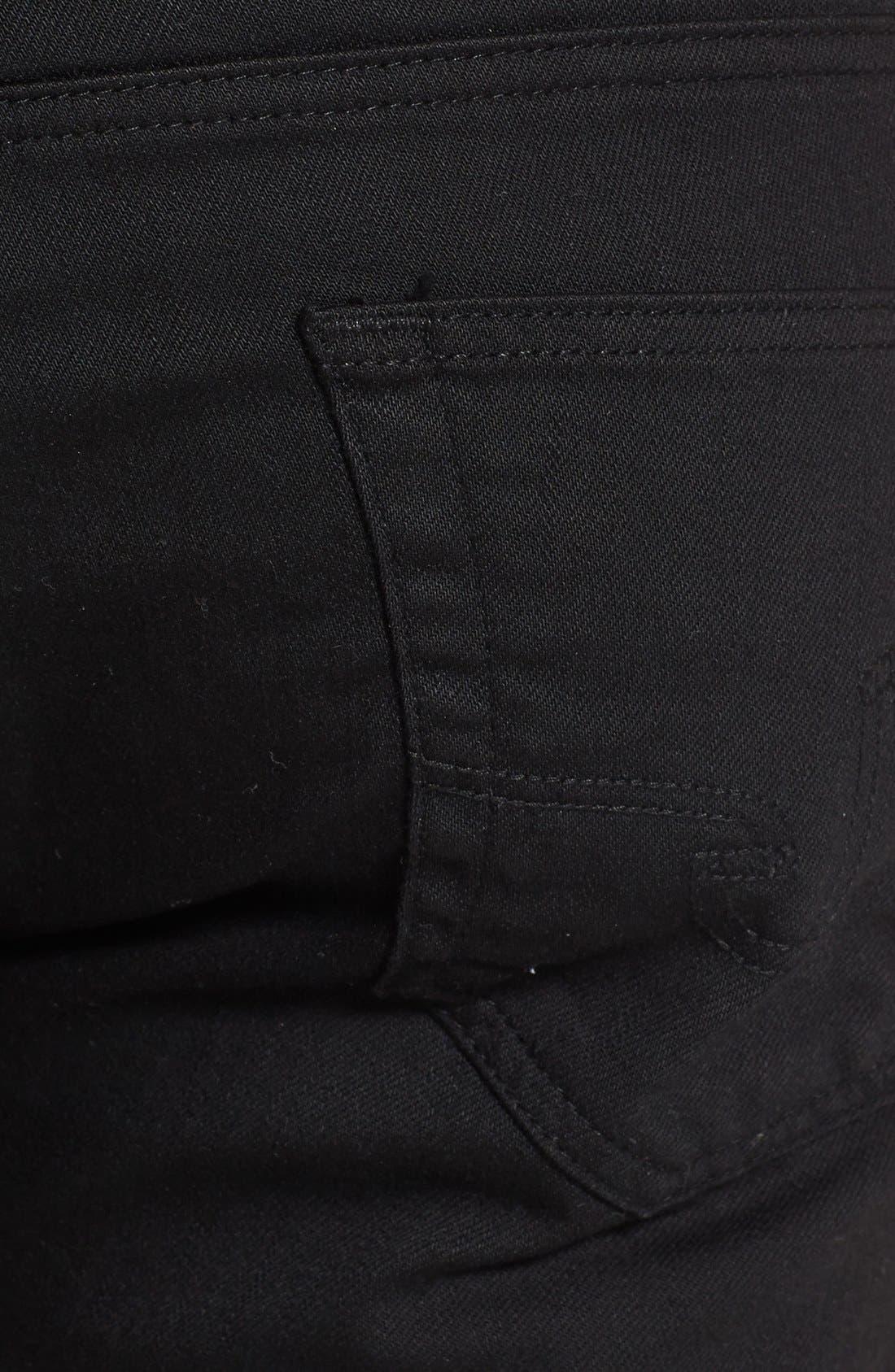Alternate Image 4  - AG 'Matchbox' Slim Fit Jeans (Blackheart)