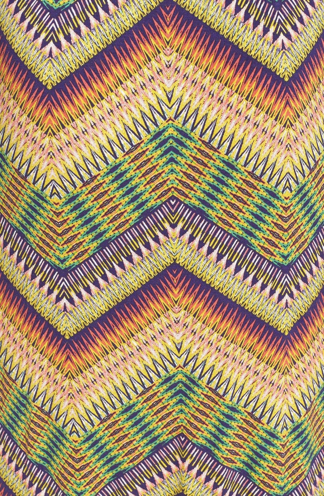 Alternate Image 3  - Sanctuary 'Island' Chevron Print Cutout Maxi Dress