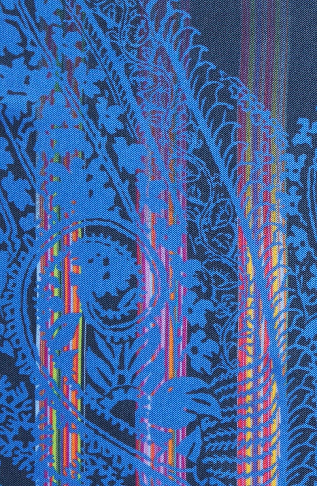 Alternate Image 3  - Etro Print Silk Pocket Square