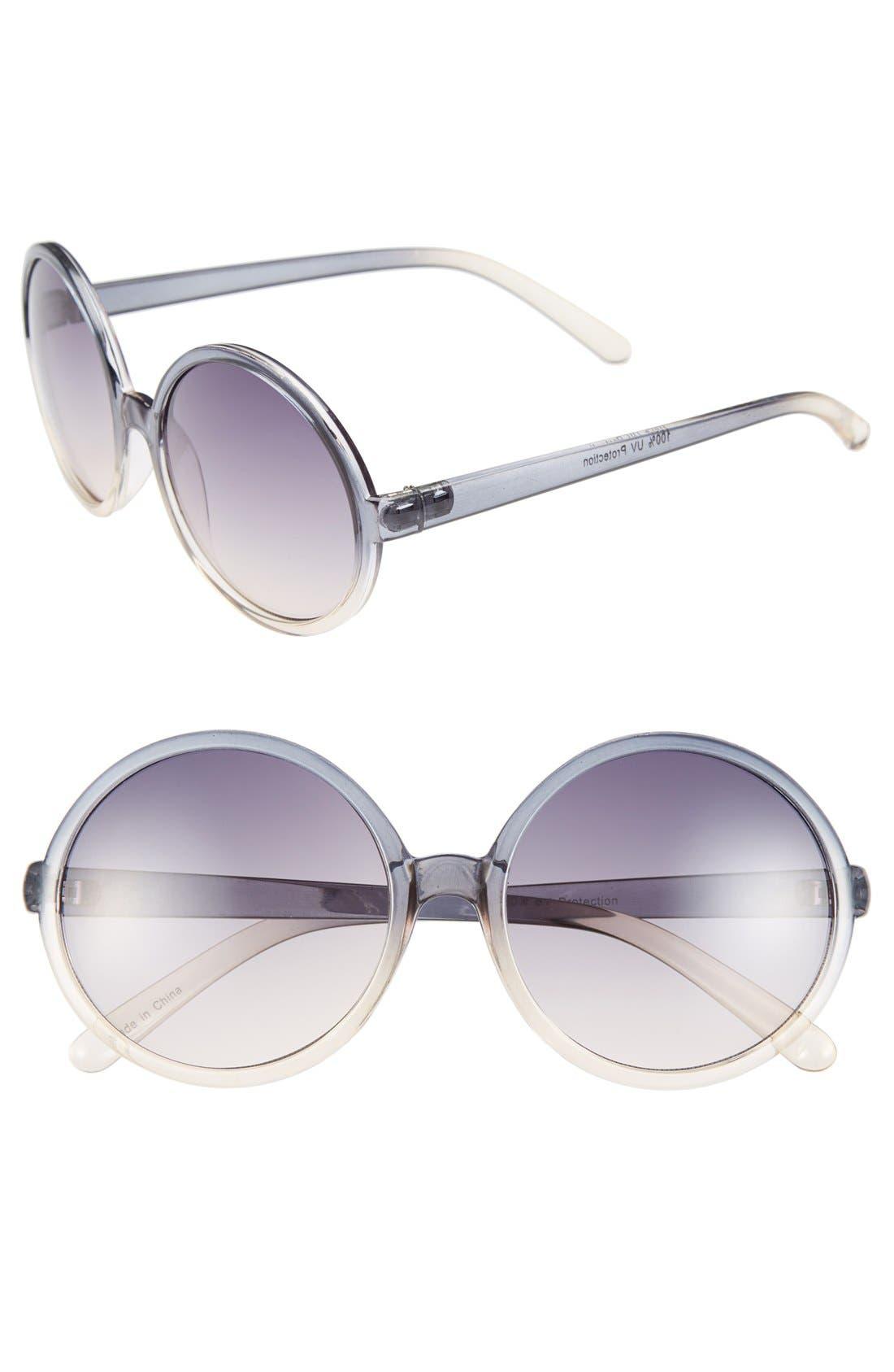 Alternate Image 1 Selected - Fantas Eyes 'Money Penny' 63mm Sunglasses (Juniors)