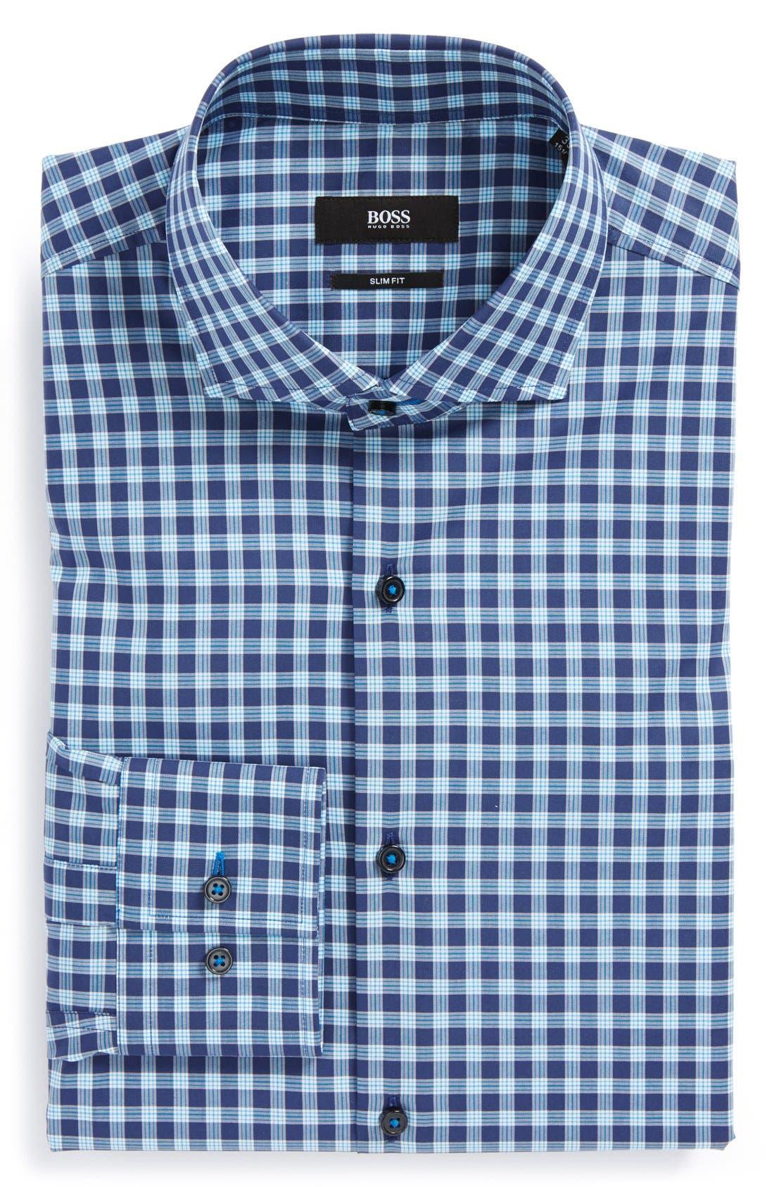 Alternate Image 1 Selected - BOSS HUGO BOSS 'Jaser' WW Slim Fit Dress Shirt
