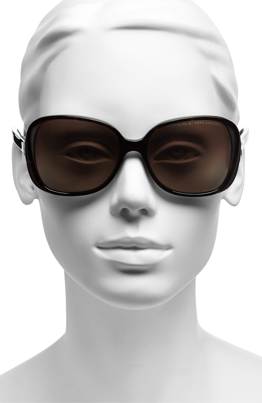 Alternate Image 2  - MARC BY MARC JACOBS 57mm Sunglasses