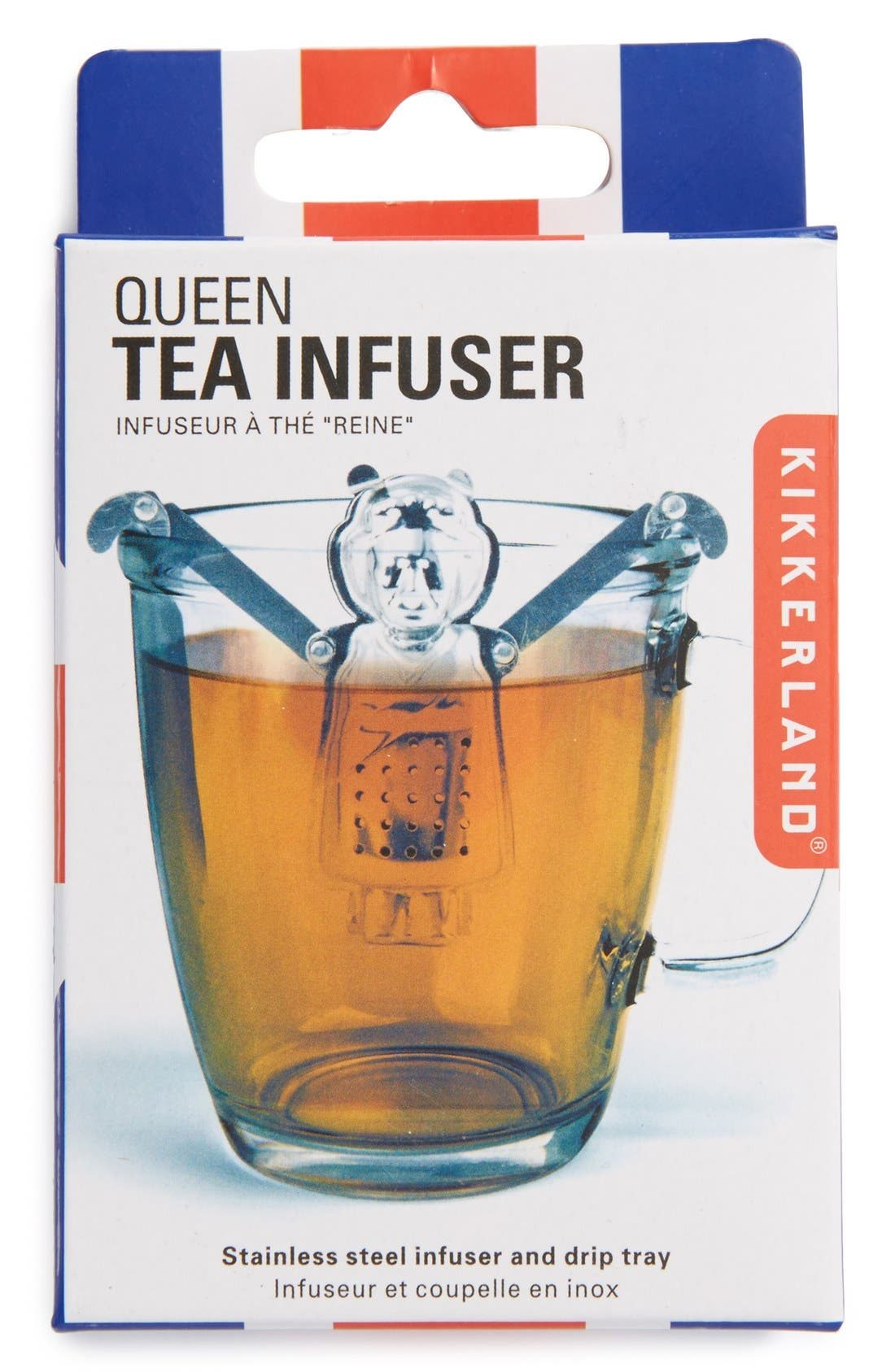 Alternate Image 1 Selected - Kikkerland Design 'Queen' Tea Infuser