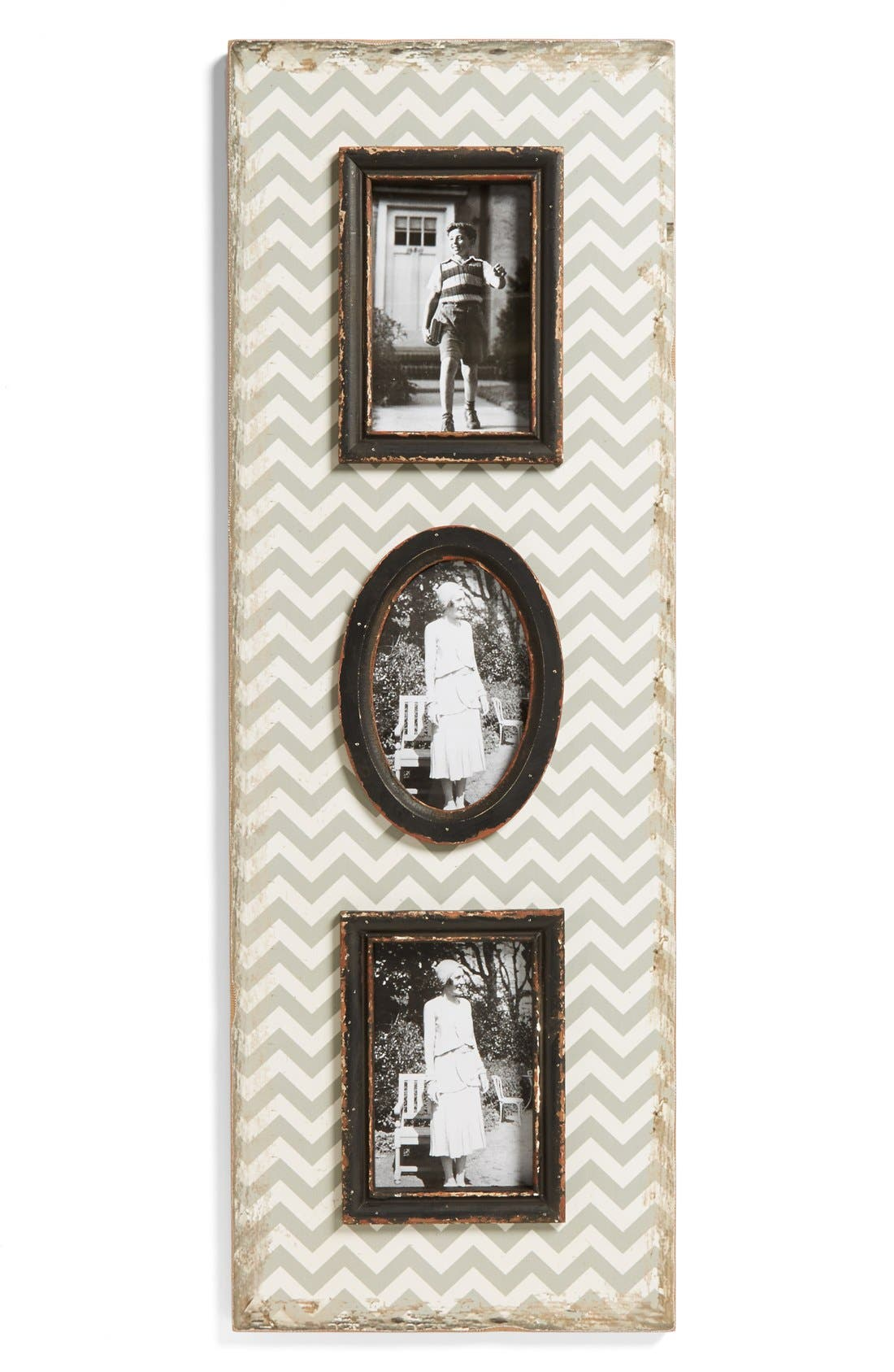 Alternate Image 1 Selected - VIP International Chevron Multi Picture Frame