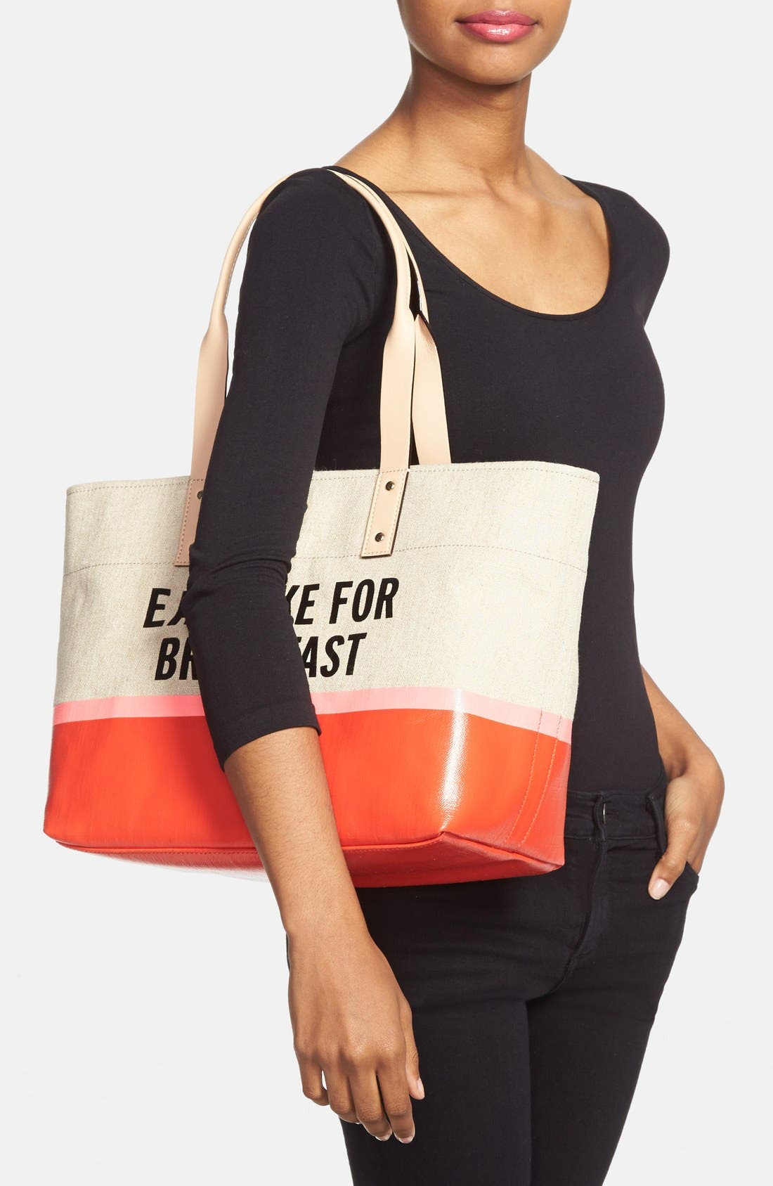 Alternate Image 2  - kate spade new york 'word to the wise - francis' tote