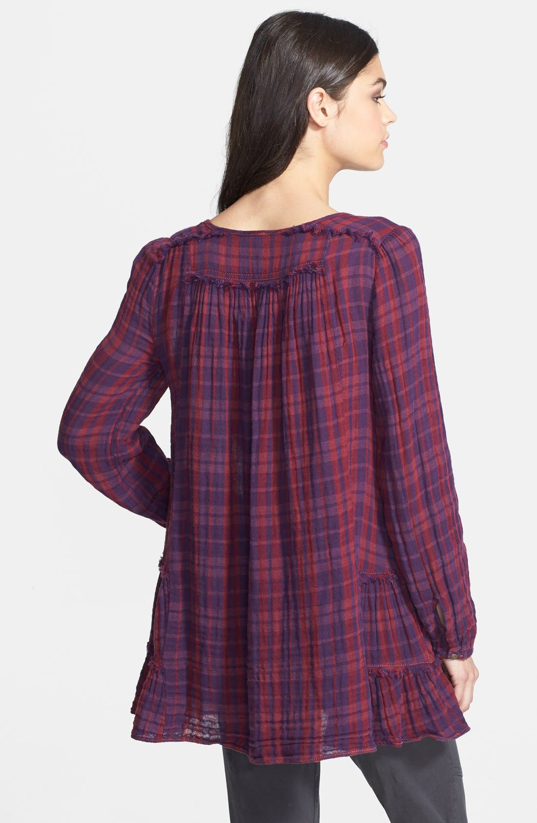 Alternate Image 2  - Free People 'Whistle While You Work' Cotton Blouse
