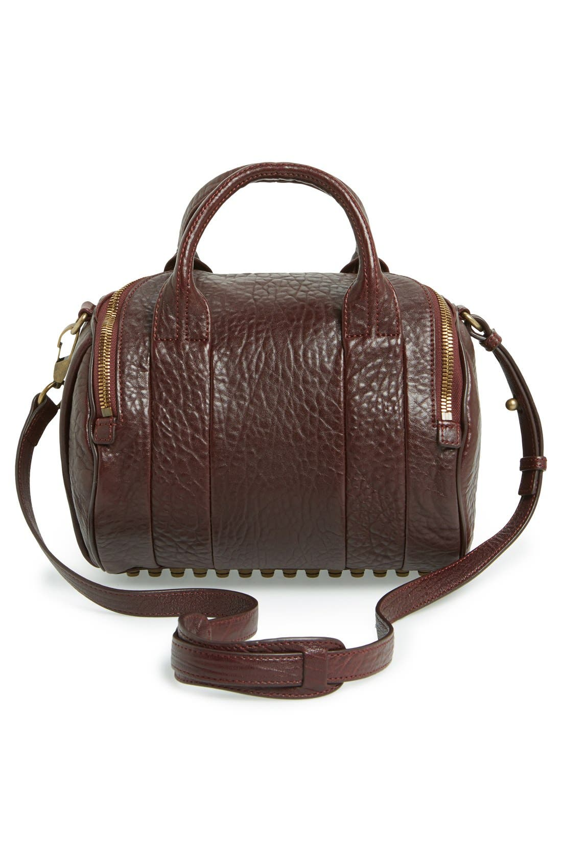 Alternate Image 4  - Alexander Wang 'Rockie - Antique Brass' Leather Crossbody Satchel