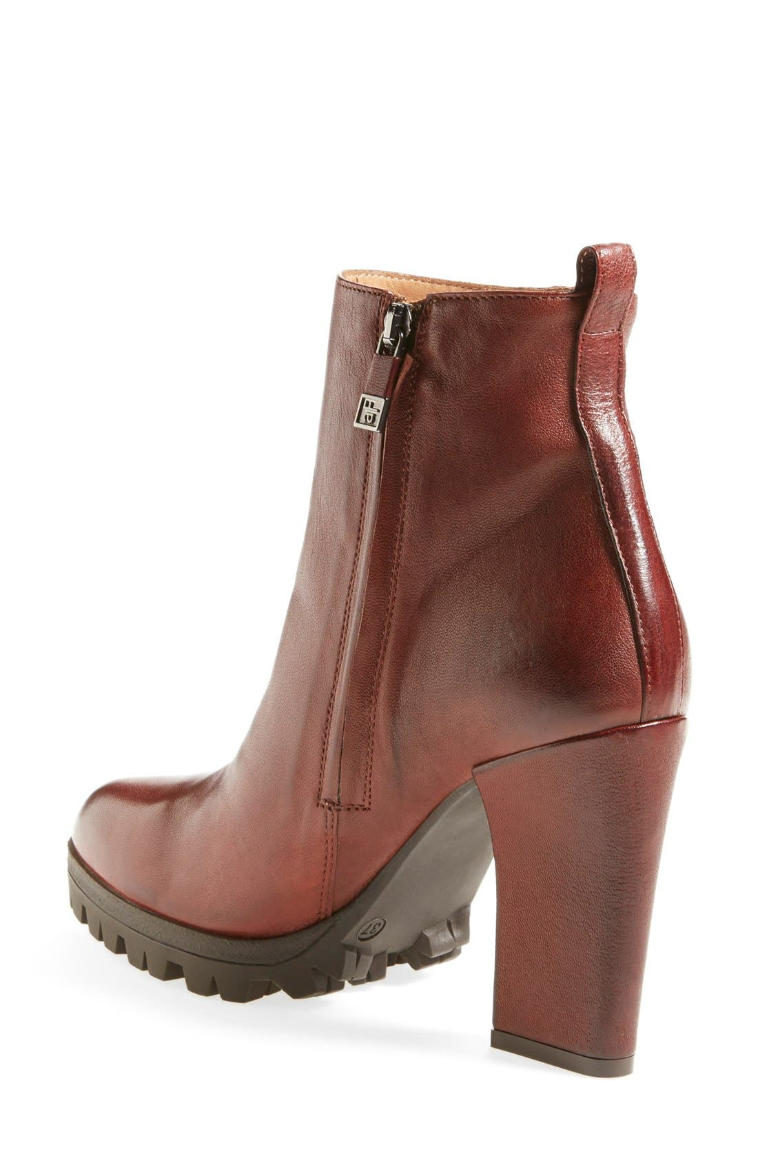 Alternate Image 2  - Alberto Fermani 'Vervelli' Lugged Sole Bootie (Women)