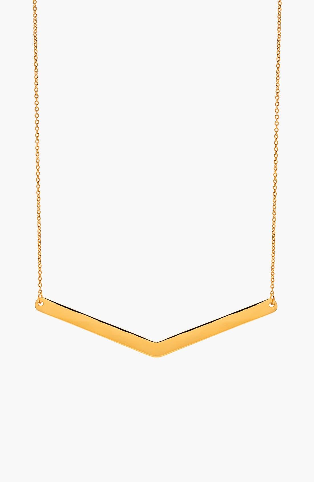 Main Image - gorjana 'Mila' V-Pendant Necklace