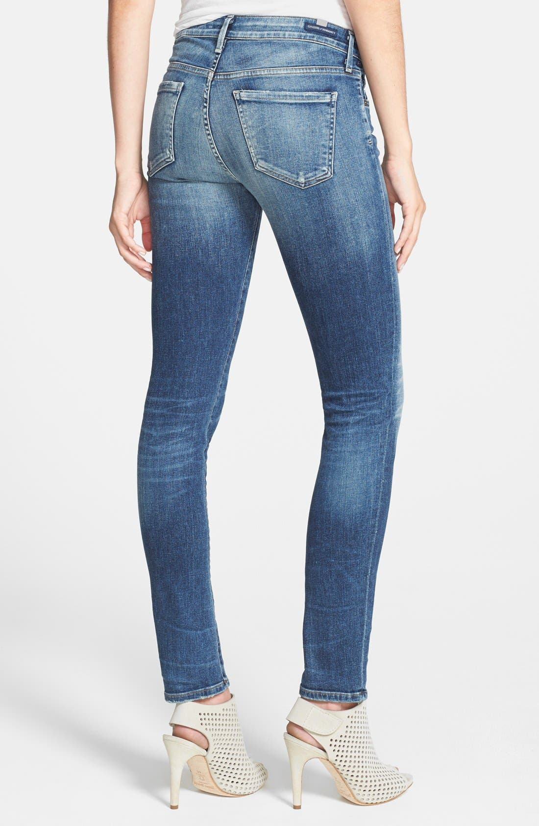 Alternate Image 2  - Citizens of Humanity 'Arielle' Ultra Skinny Jeans (Weekend)