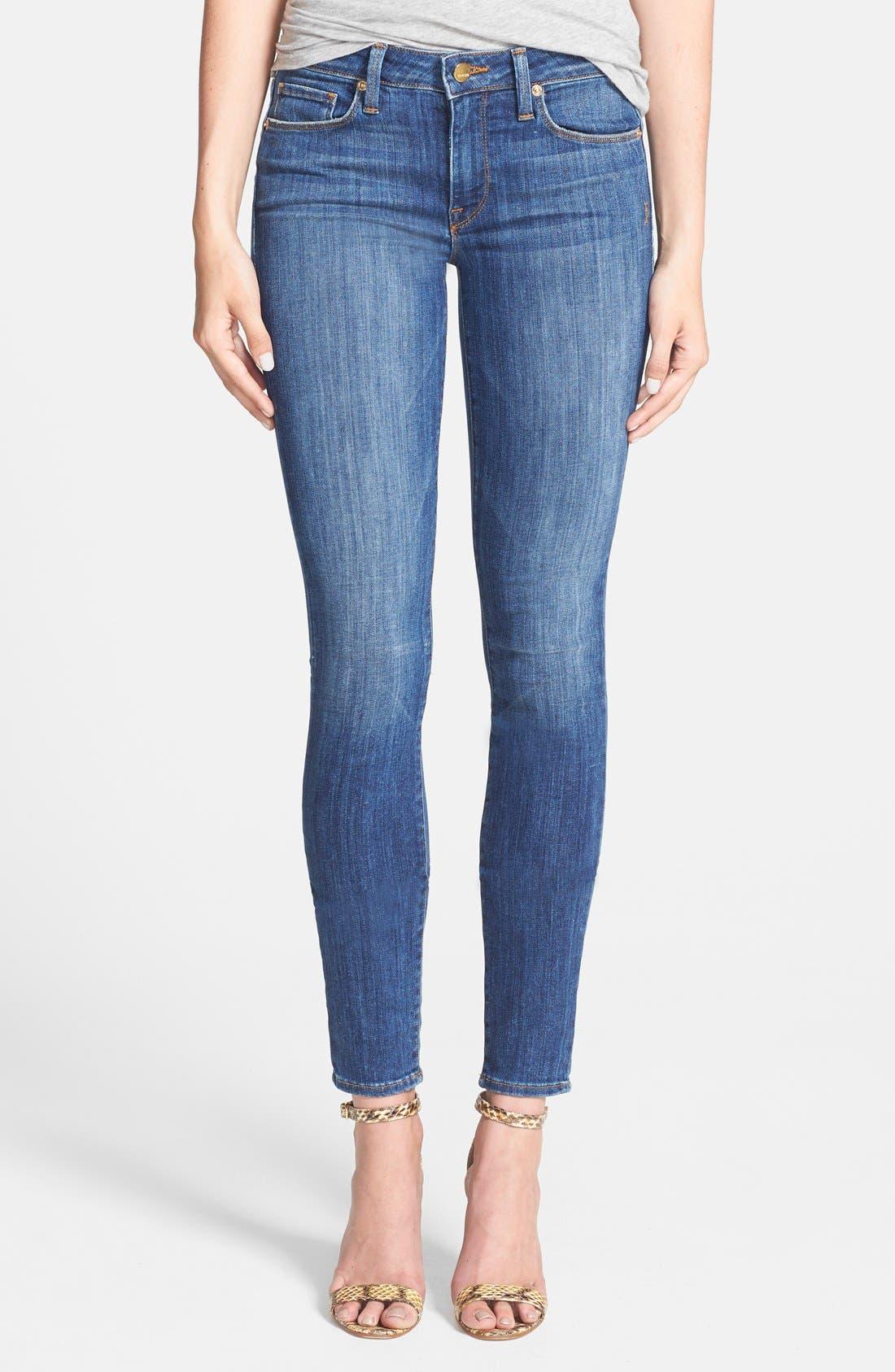 Main Image - Genetic 'Stem' Mid Rise Skinny Jeans (Arena)