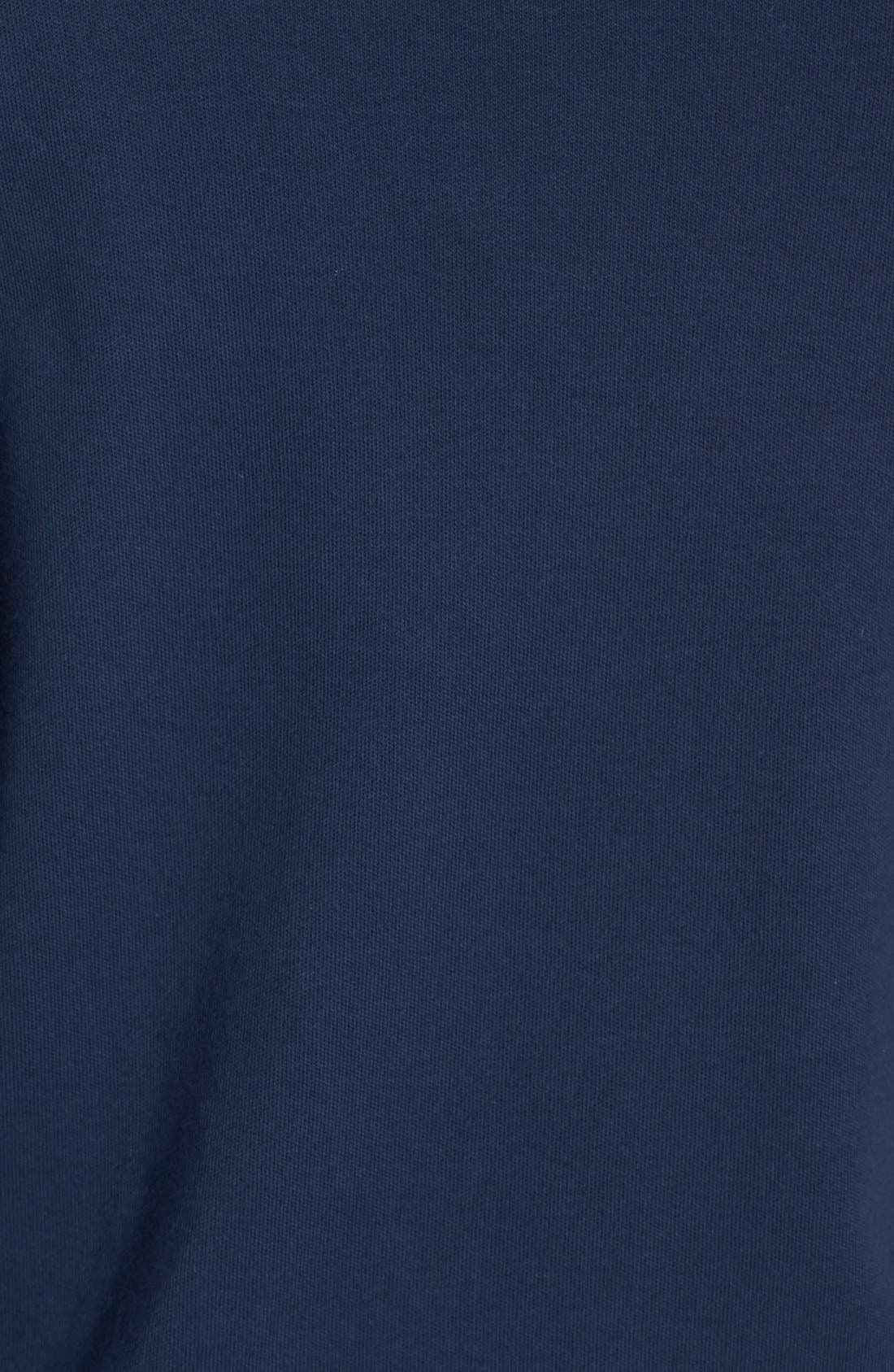 Alternate Image 3  - Vineyard Vines Quarter Zip Cotton Jersey Sweatshirt