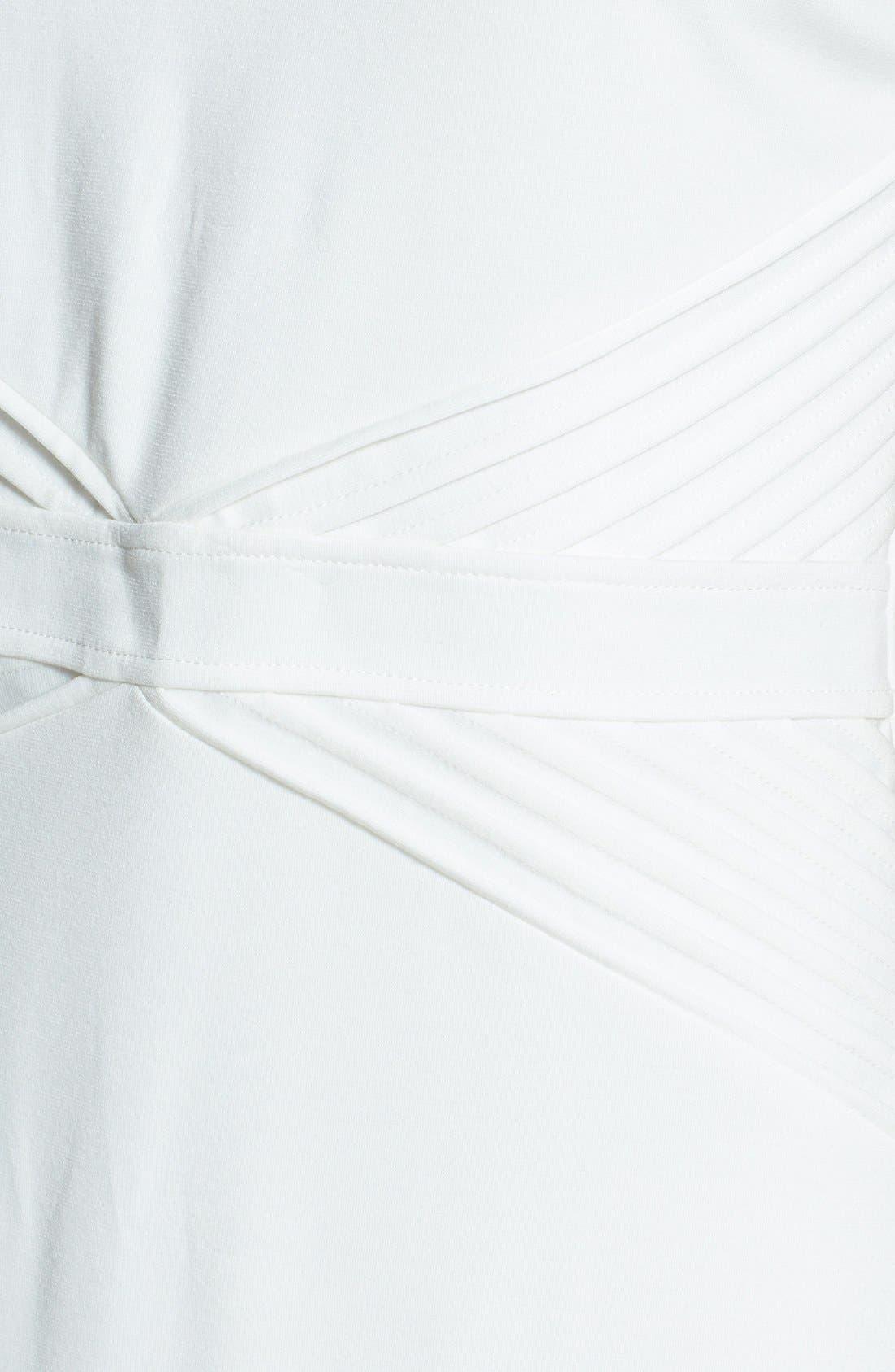 Alternate Image 3  - Ellen Tracy Ponte Knit Sheath Dress