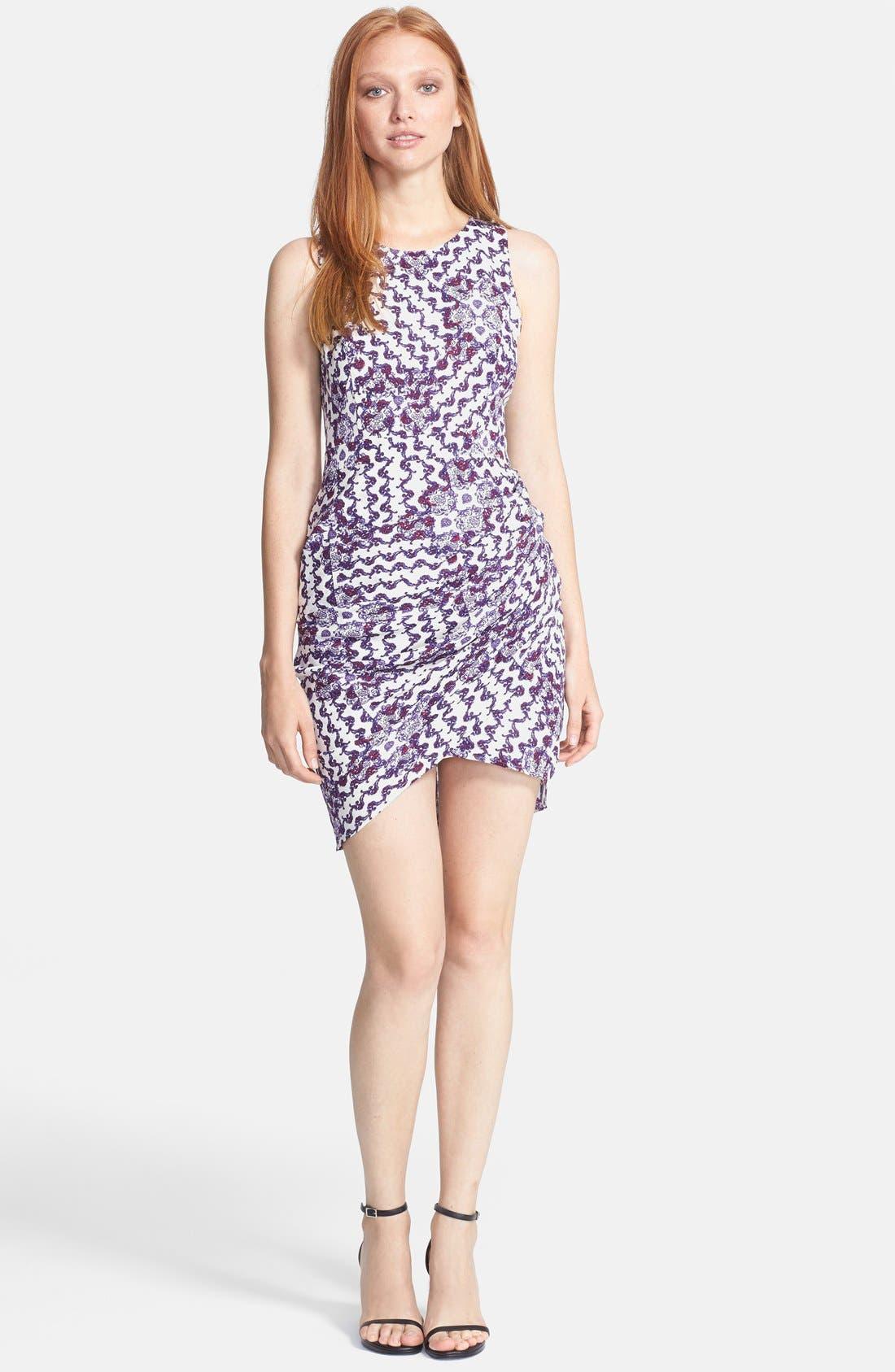 Main Image - Rebecca Minkoff 'Colman' Print Silk Sheath Dress