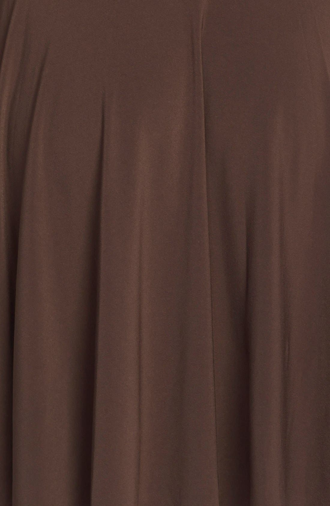 Alternate Image 3  - Lauren Ralph Lauren Belted Fit & Flare Jersey Dress