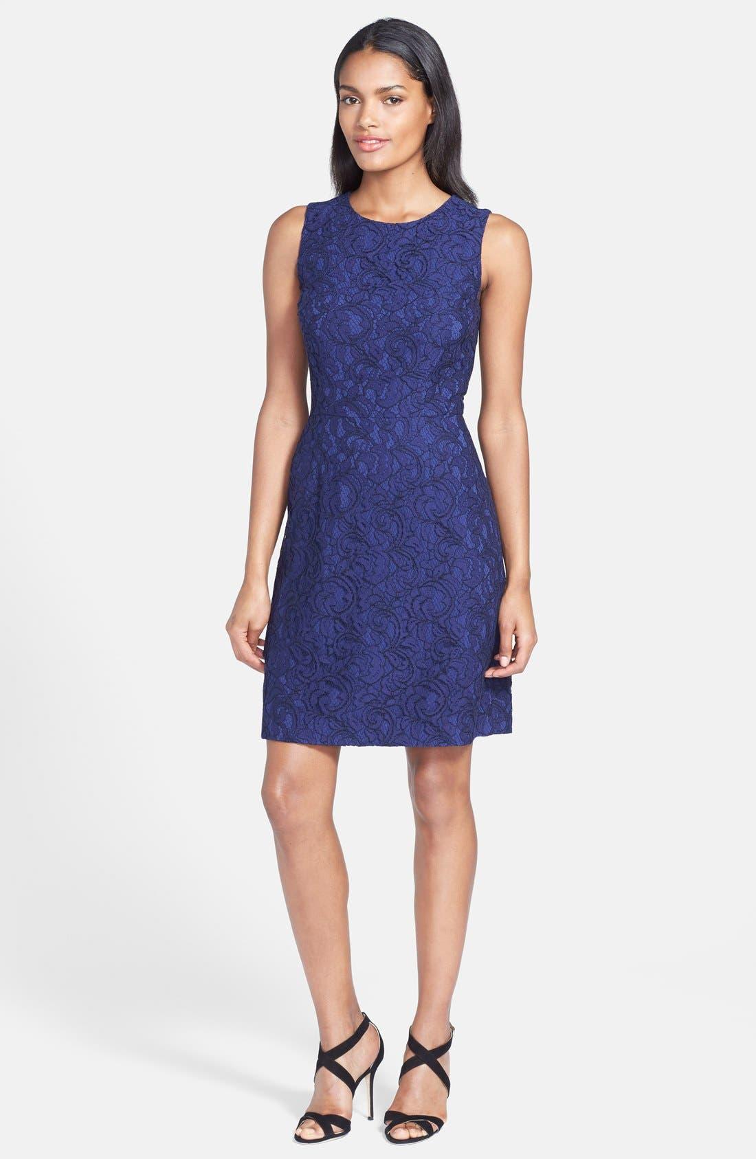 Alternate Image 3  - Cynthia Steffe 'Garland' Lace Sheath Dress