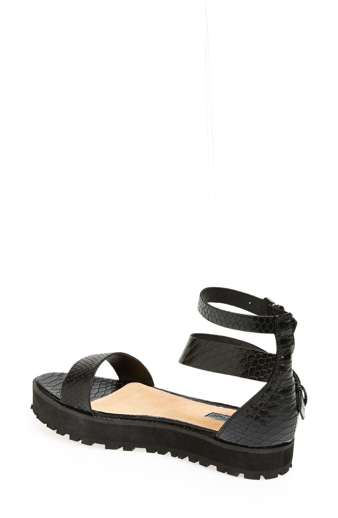 Alternate Image 2  - Topshop 'Free Tread' Sandal