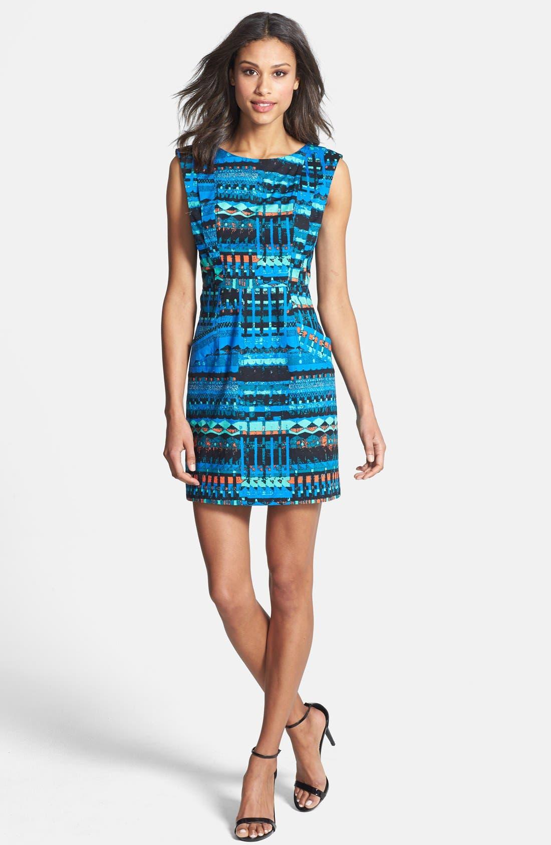 Alternate Image 3  - Plenty by Tracy Reese 'Vanessa' Print Sheath Dress (Regular & Petite)