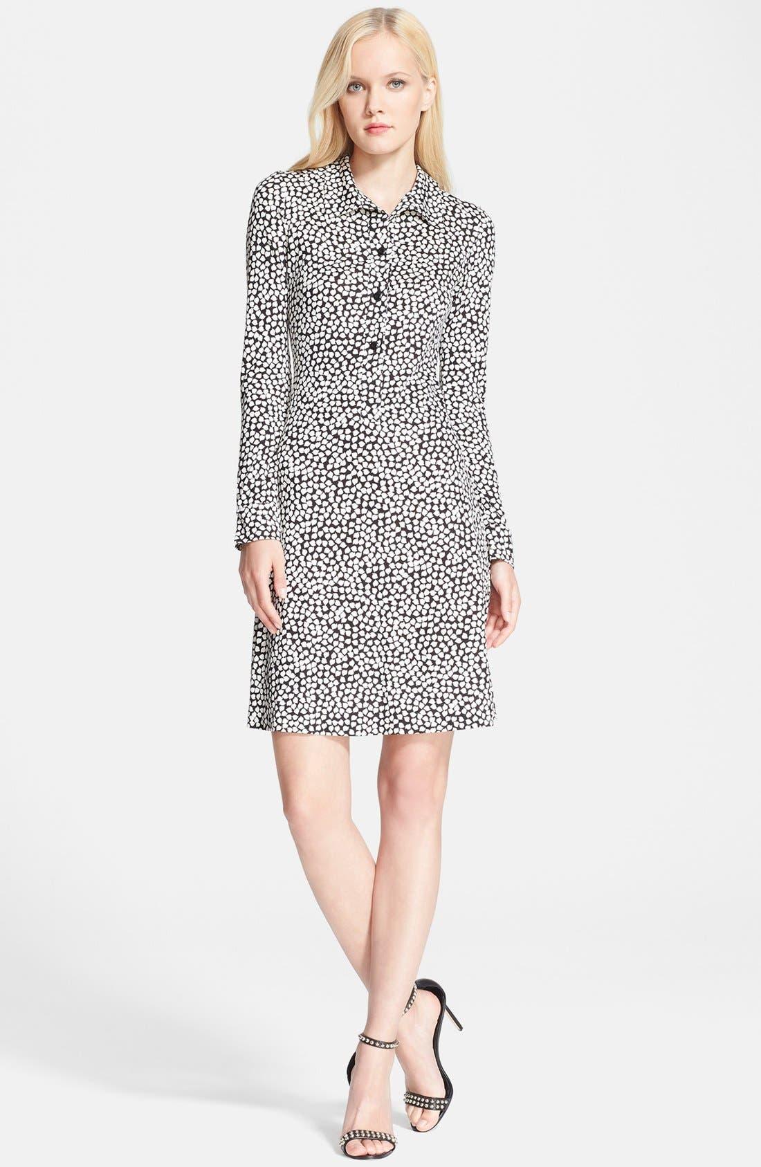 Alternate Image 1 Selected - Diane von Furstenberg 'Anna' Silk Shift Dress