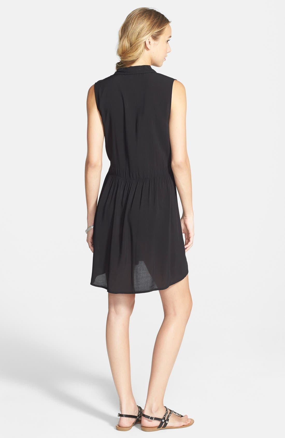 Alternate Image 2  - Volcom 'Shady' Button Front Shift Dress