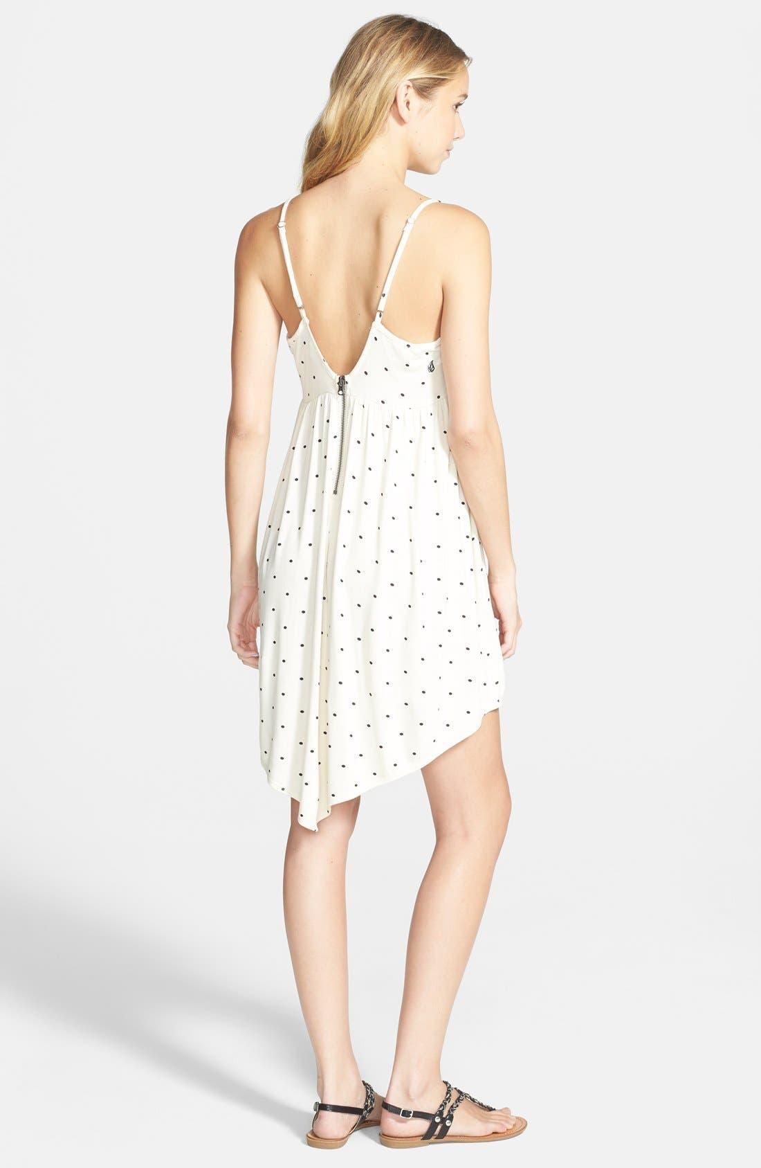 Alternate Image 2  - Volcom 'Burn Free' Print Low Back Dress