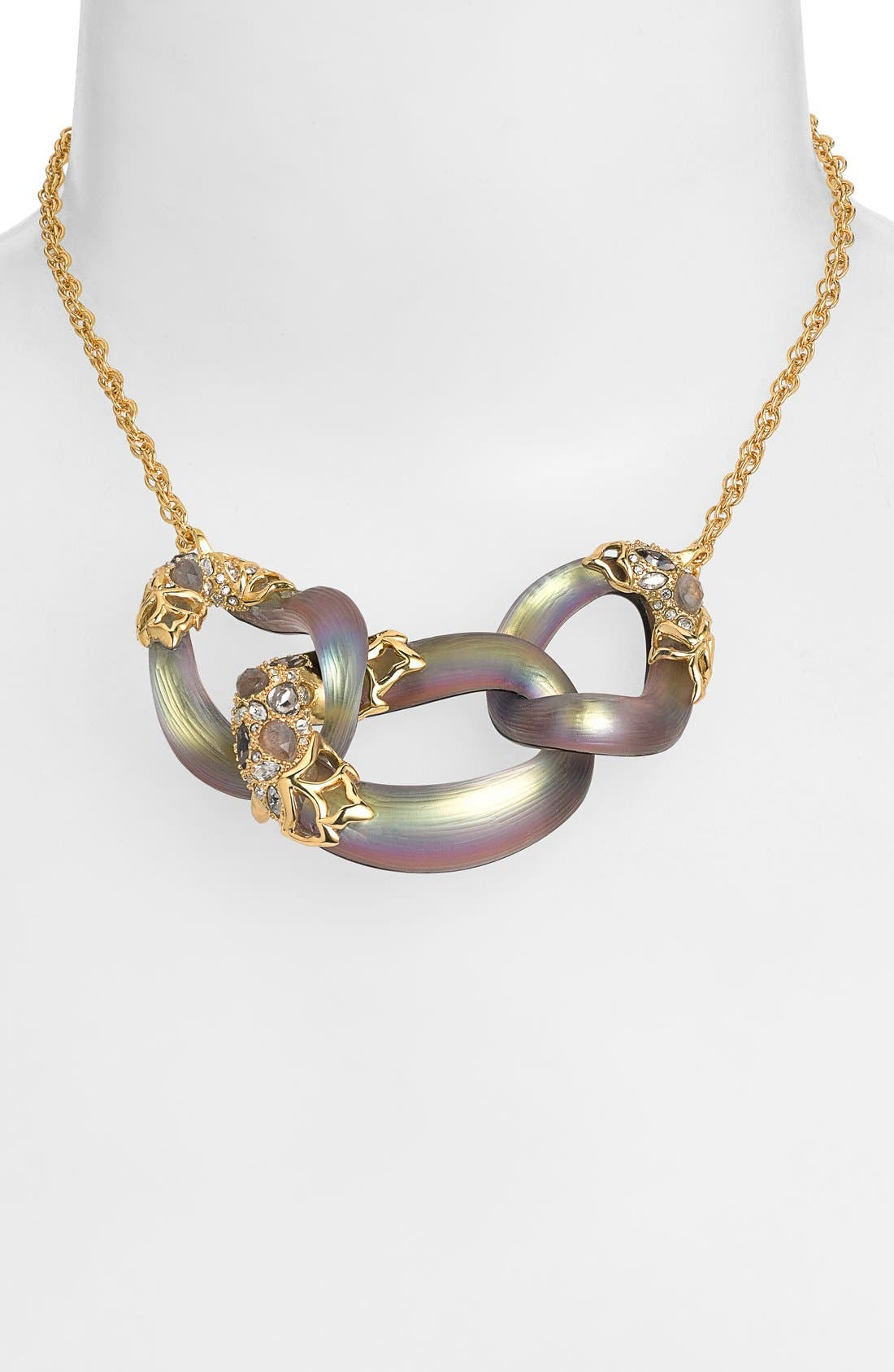 Main Image - Alexis Bittar 'Lucite® - Imperial' Link Frontal Necklace