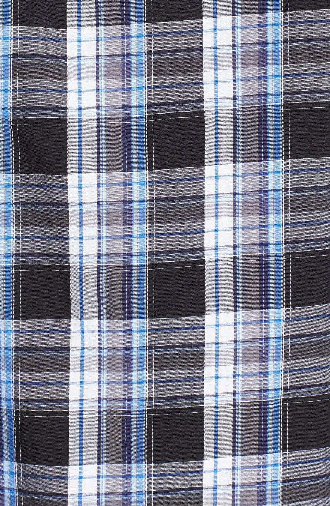 Alternate Image 3  - James Campbell 'Monitiel Plaid' Short Sleeve Sport Shirt