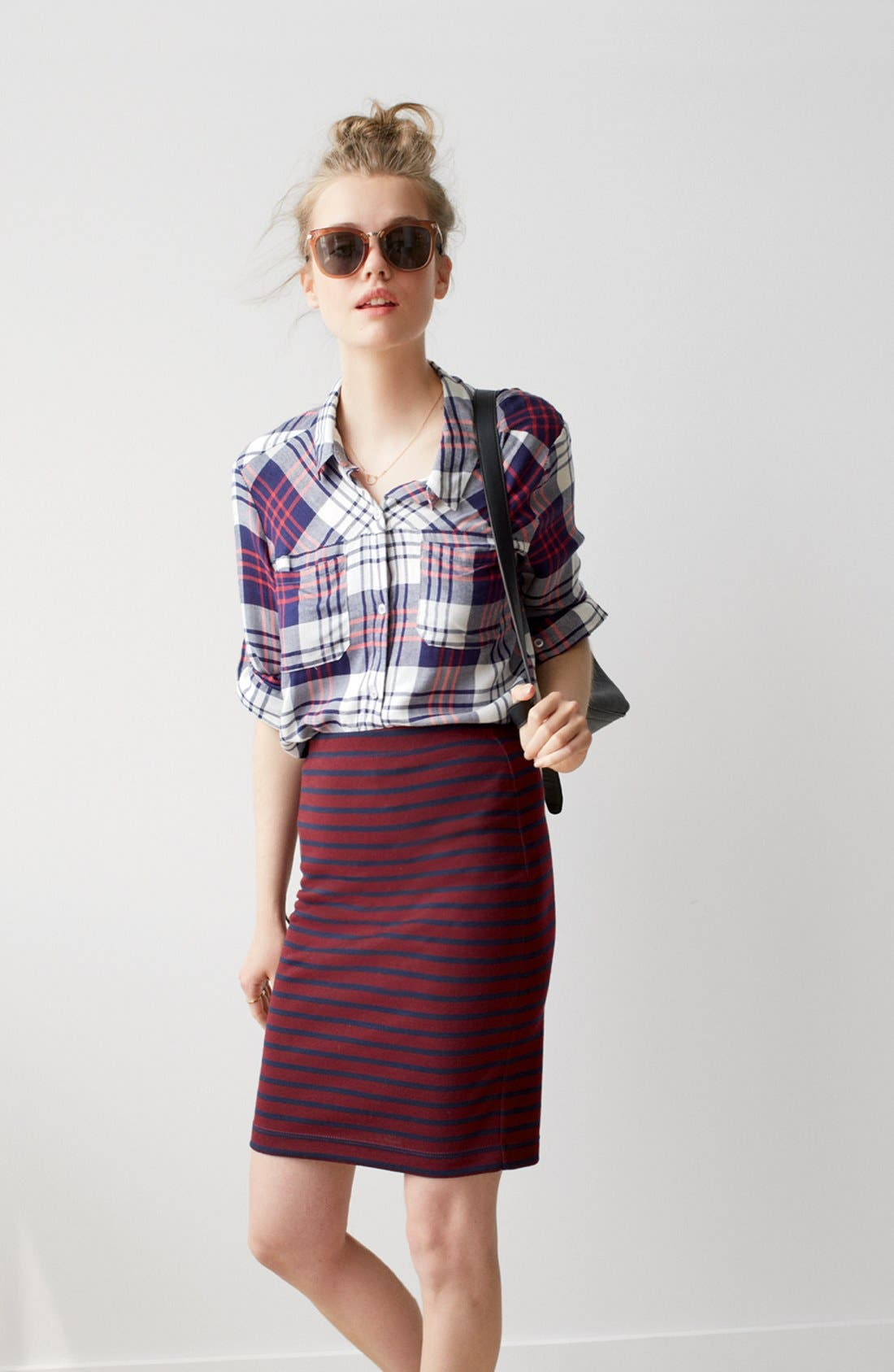 Alternate Image 11  - Ace Delivery Stripe Tube Skirt