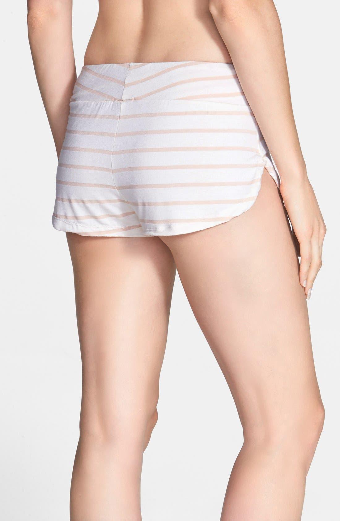 Alternate Image 2  - Eberjey 'Lounge Stripes' Shorts
