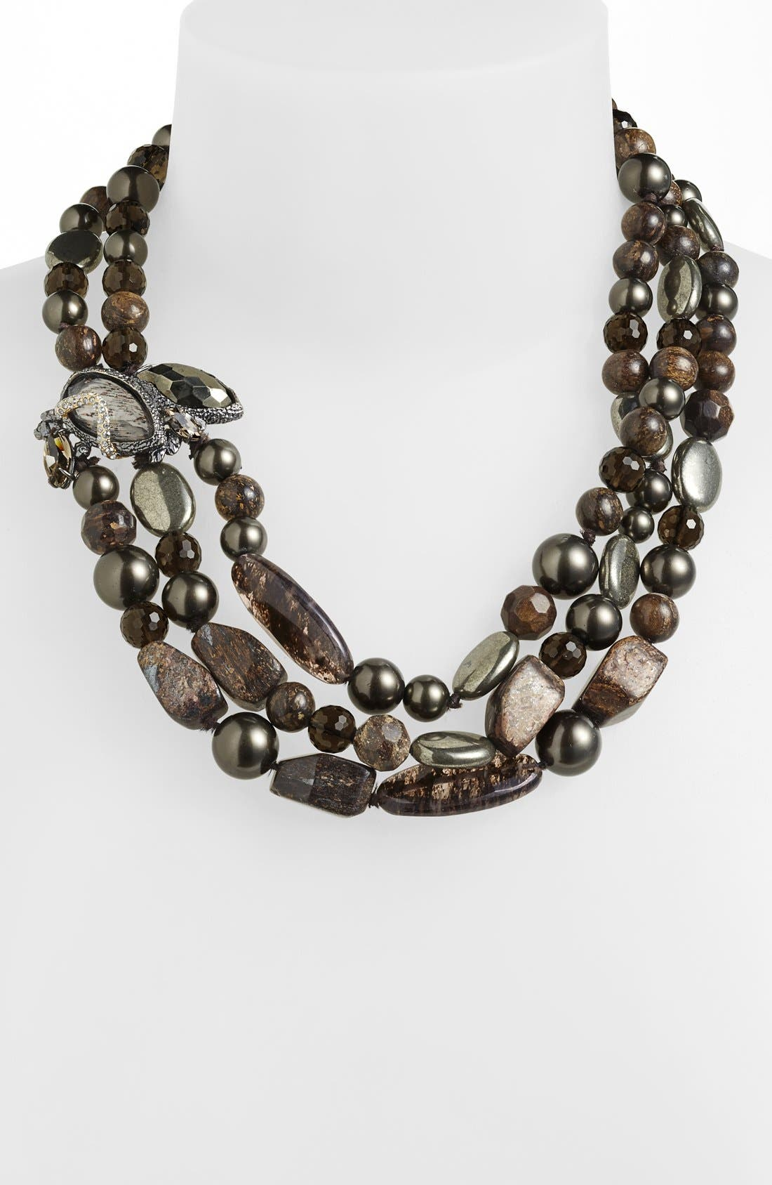 Alternate Image 1 Selected - Alexis Bittar 'Elements - Dark Phoenix' Multistrand Necklace