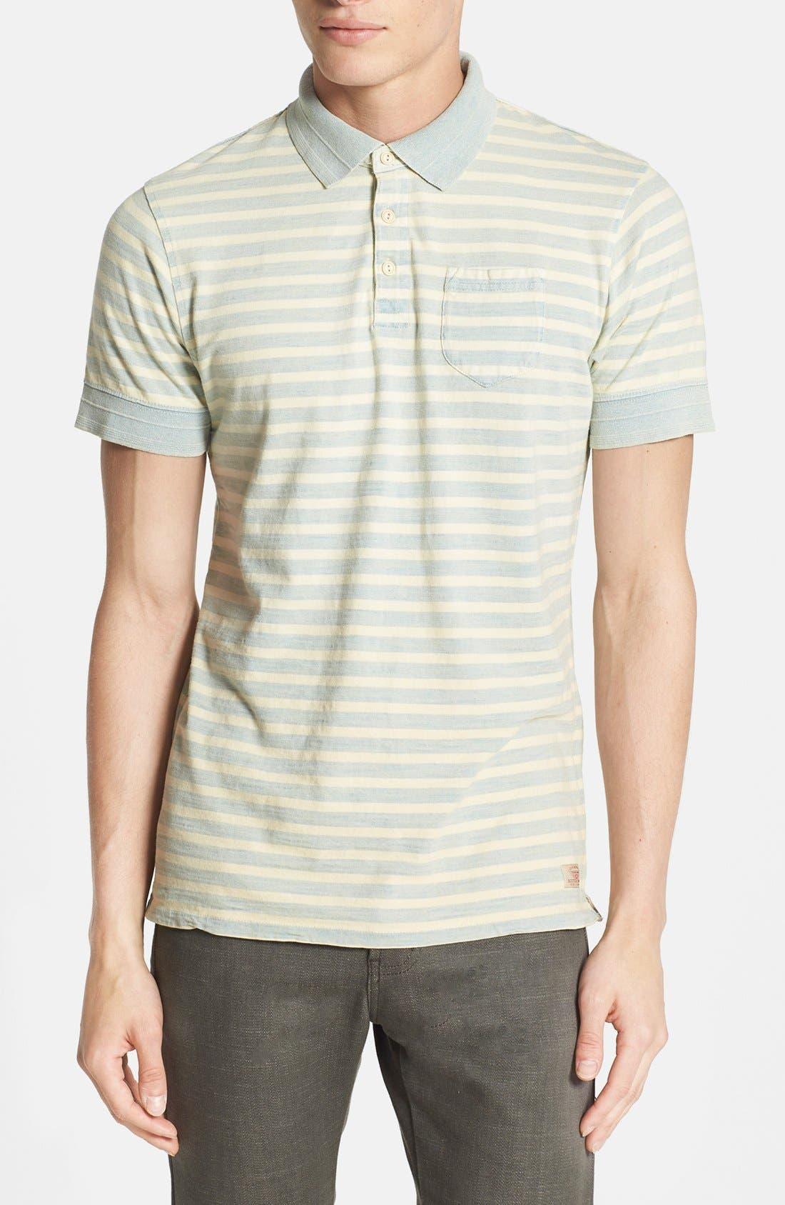 Alternate Image 1 Selected - Scotch & Soda Stripe Jersey Polo