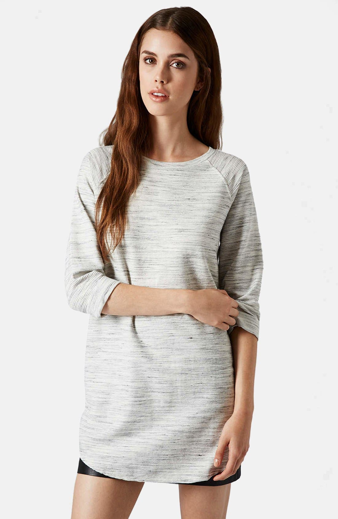 Alternate Image 1 Selected - Topshop Space Dye Tunic
