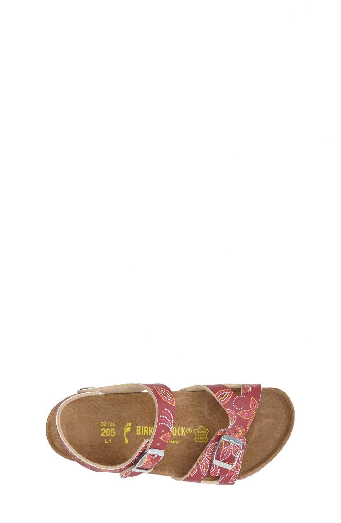 Alternate Image 3  - Birkenstock 'Rio' Birko-Flor™ Sandal (Walker, Toddler & Little Kid)