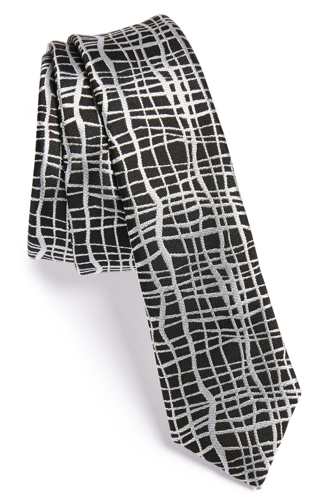 Alternate Image 1 Selected - Topman Monochrome Tie