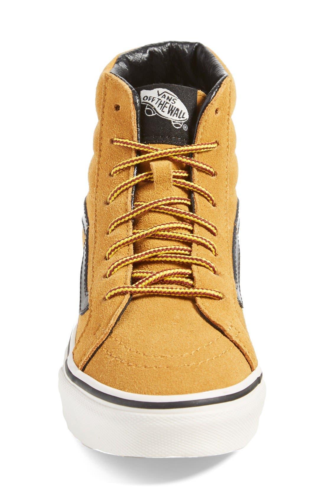 Alternate Image 3  - Vans 'Sk8-Hi Slim' Suede Sneaker (Women)