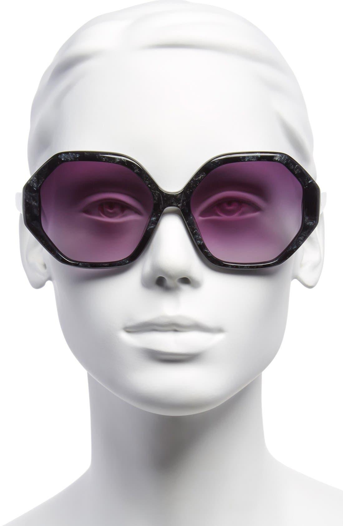 Alternate Image 2  - Derek Lam 'Stormy' 59mm Sunglasses
